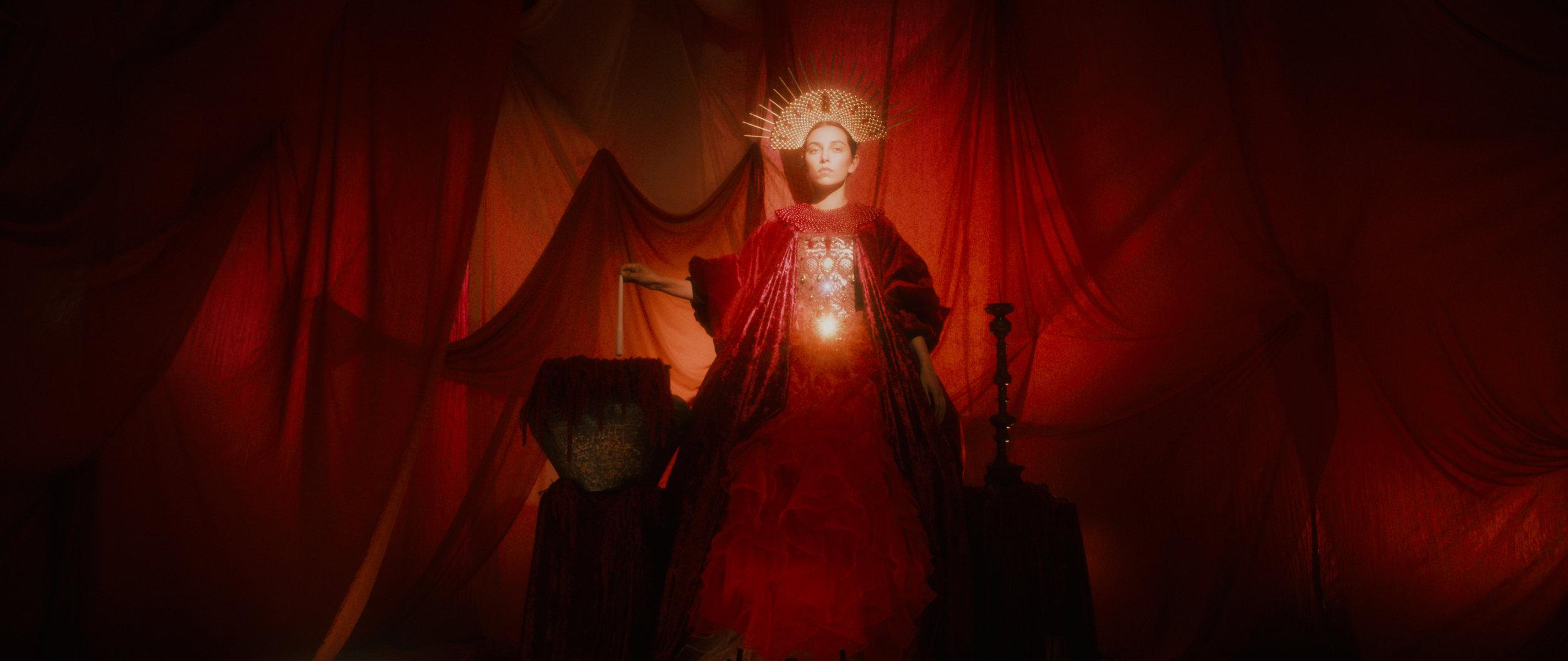 Rachel Day as the Virgin Mary