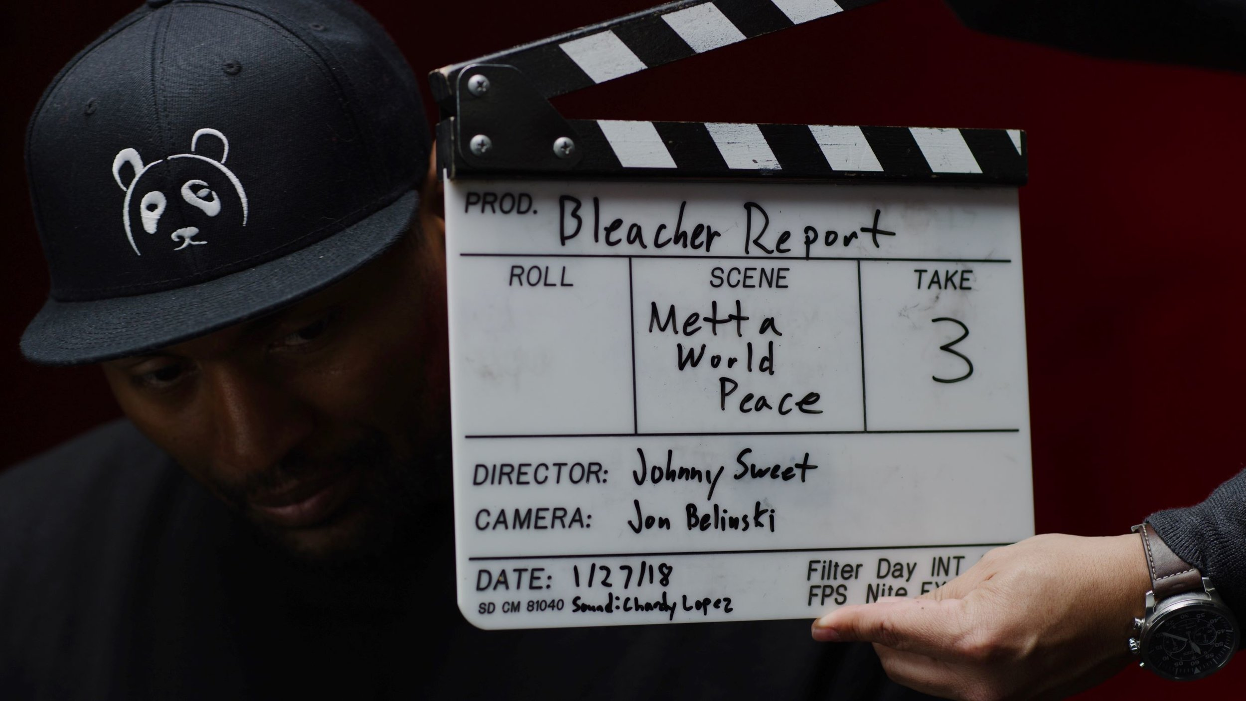 Behind the scenes of Quiet Storm: The Ron Artest Story