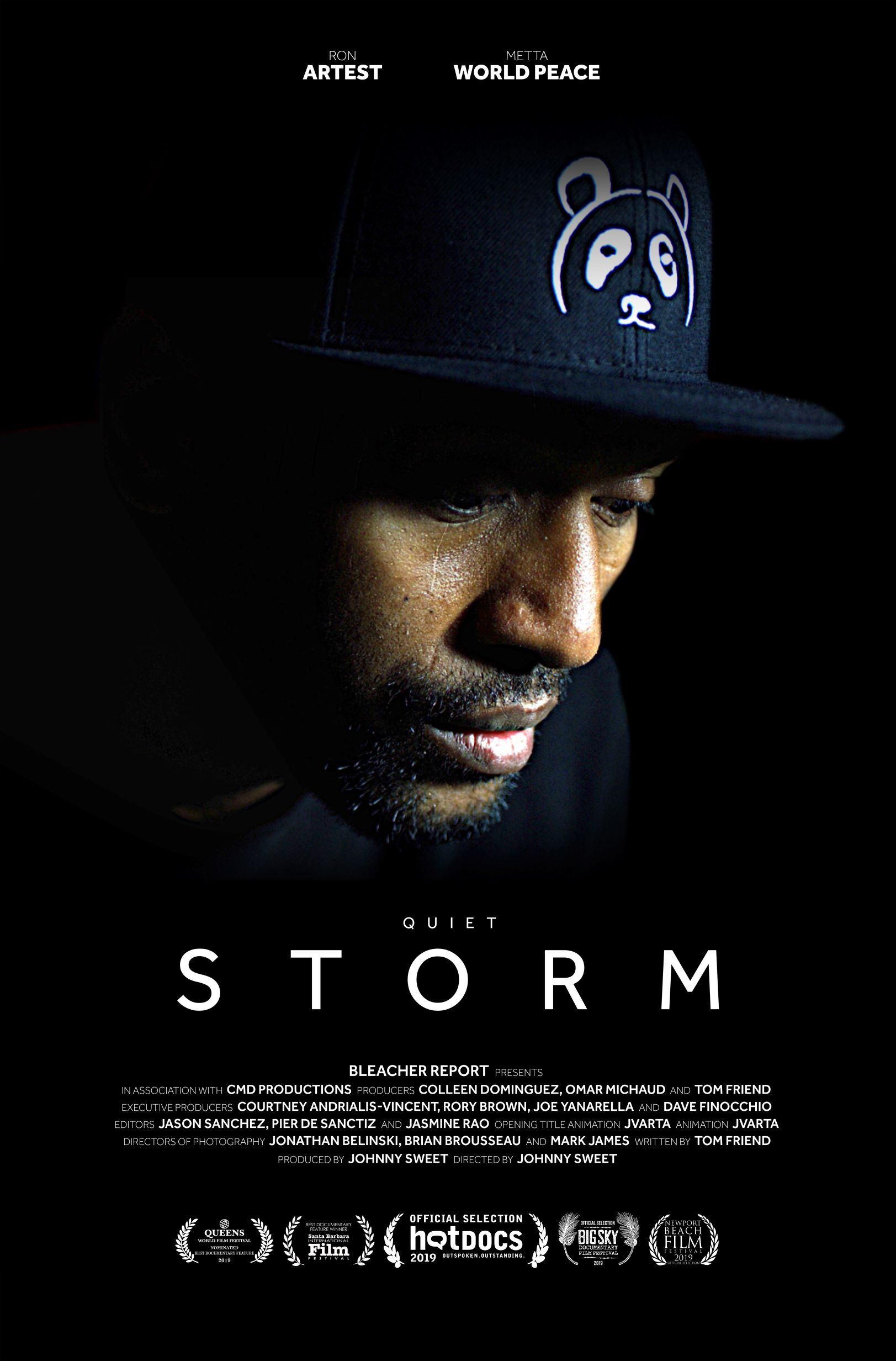 Quiet Storm: The Ron Artest Story poster
