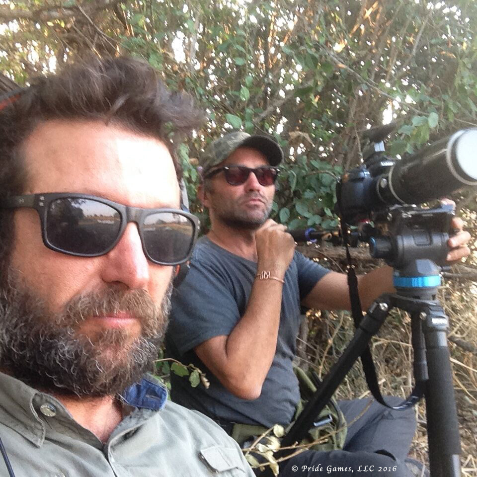 King Of Beasts directors Nadav Harel and Tomer Almagor