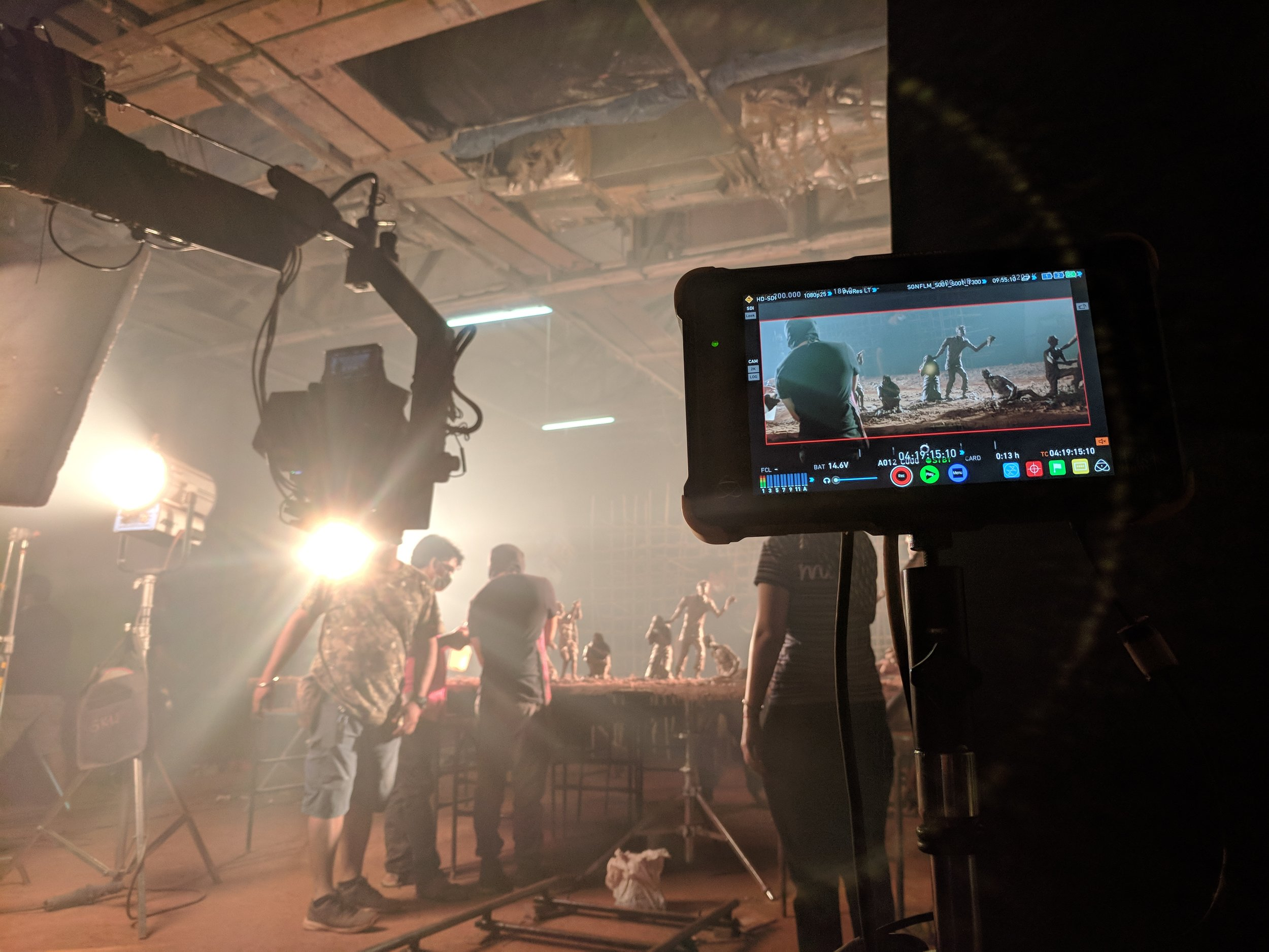 Behind the scenes of Children of the Soil
