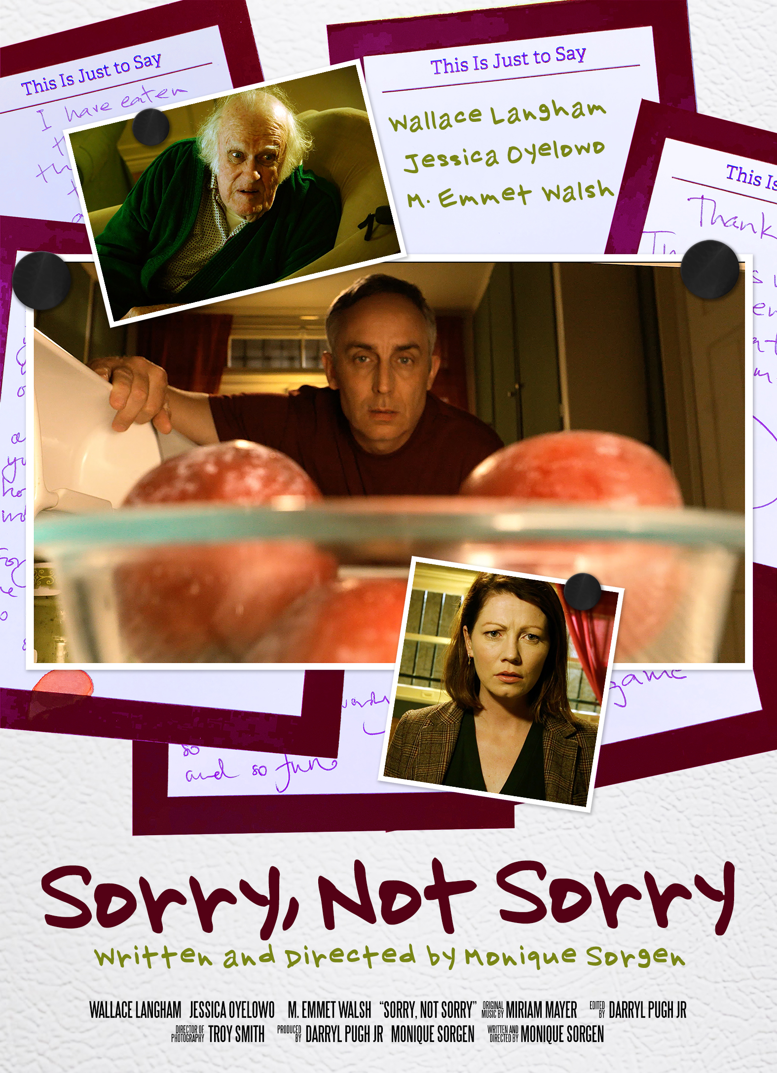 Sorry, Not Sorry poster