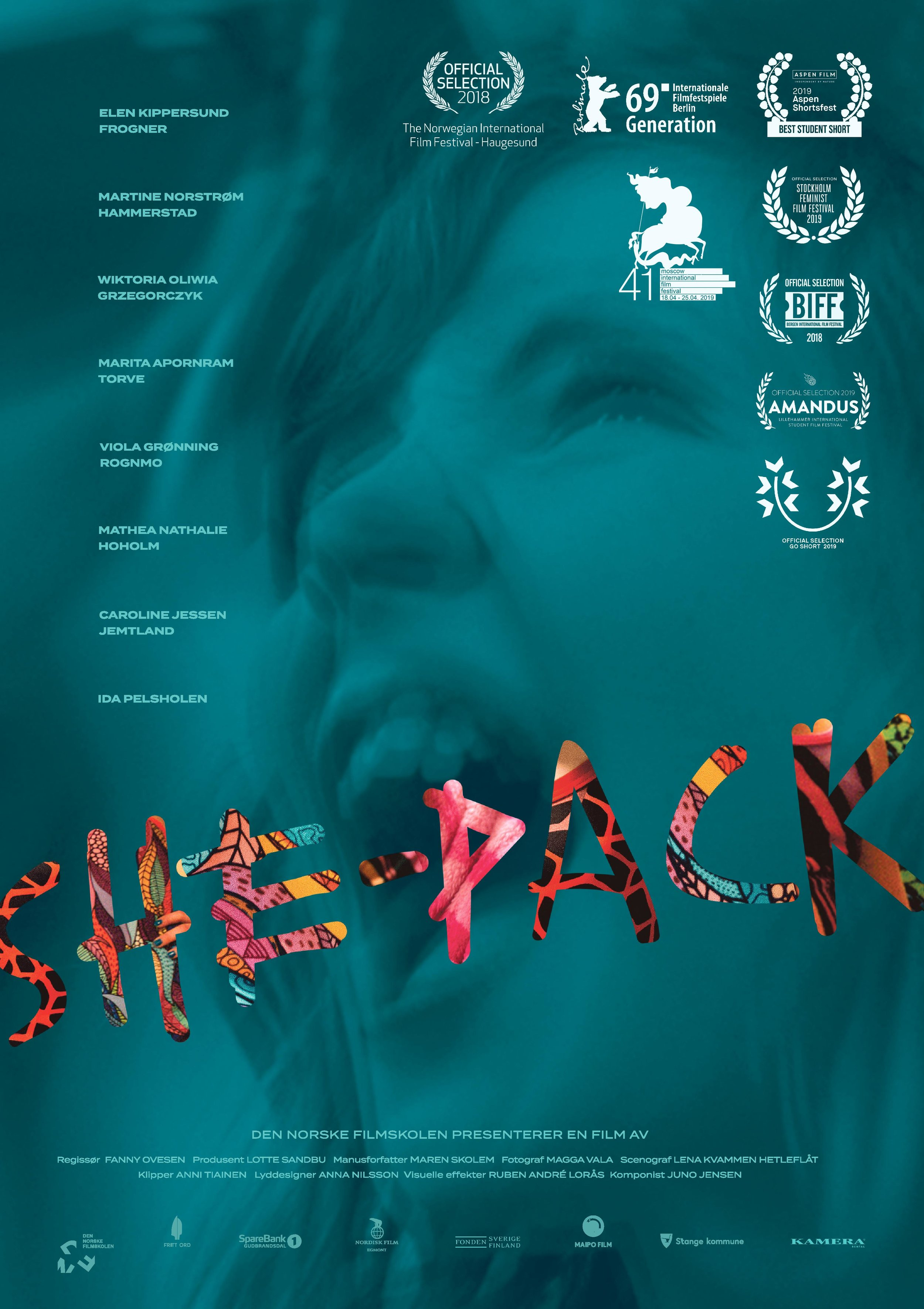 SHE-PACK poster