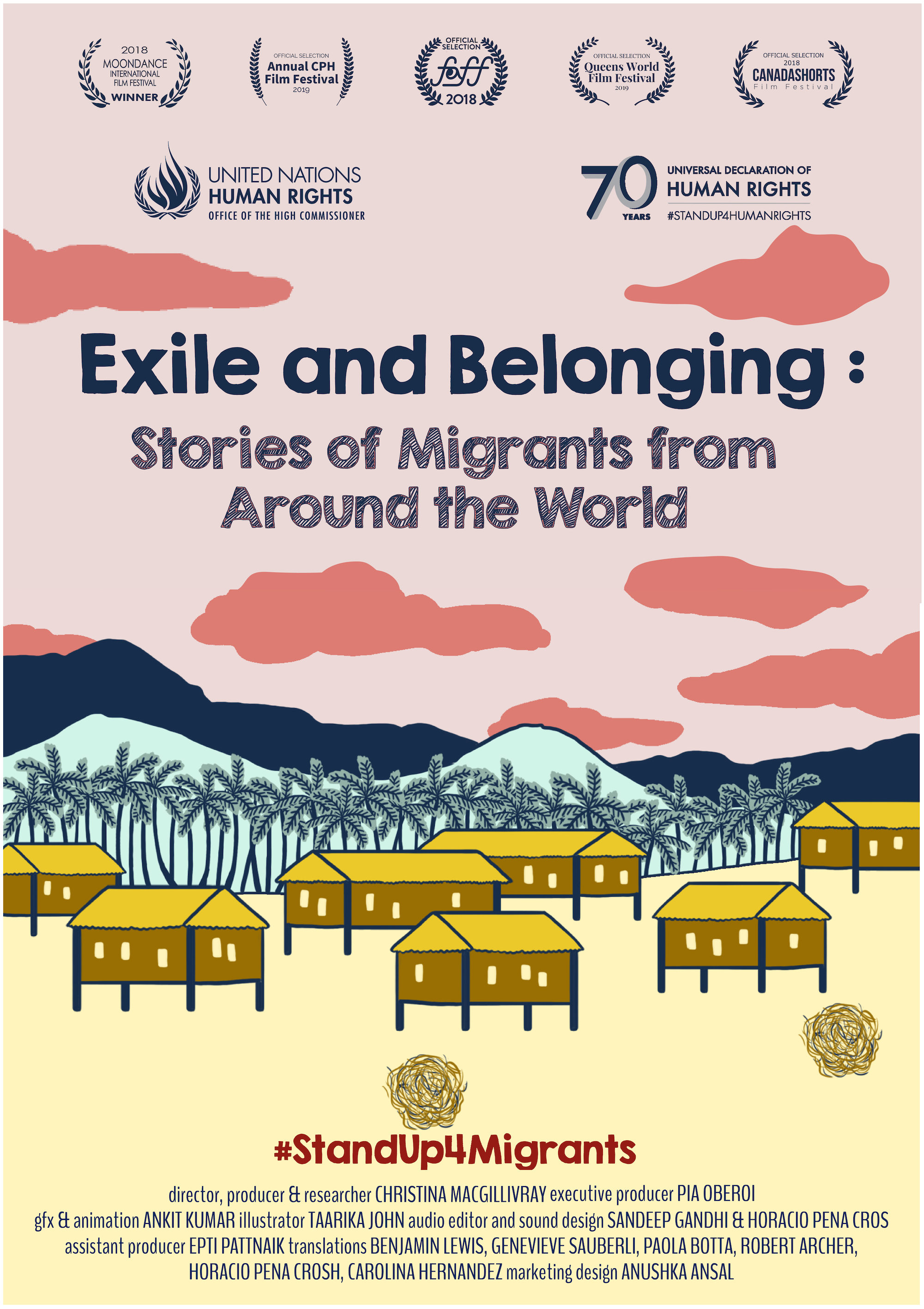 Exile and Belonging poster
