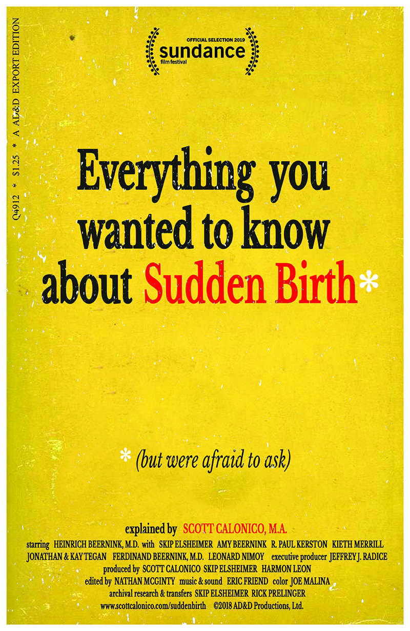 Everything You Wanted to Know About Sudden Birth* (*but were afraid to ask) poster