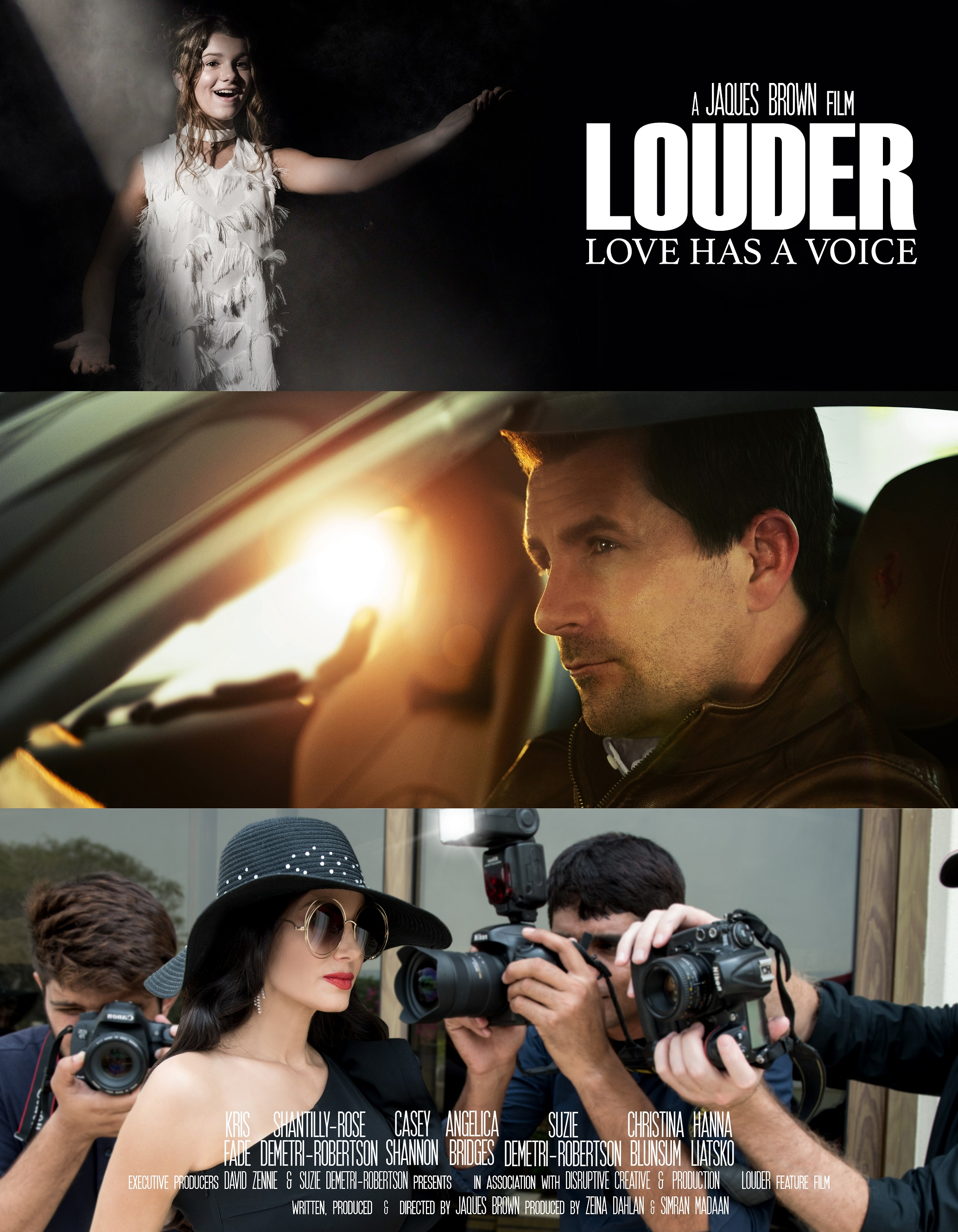 Louder poster