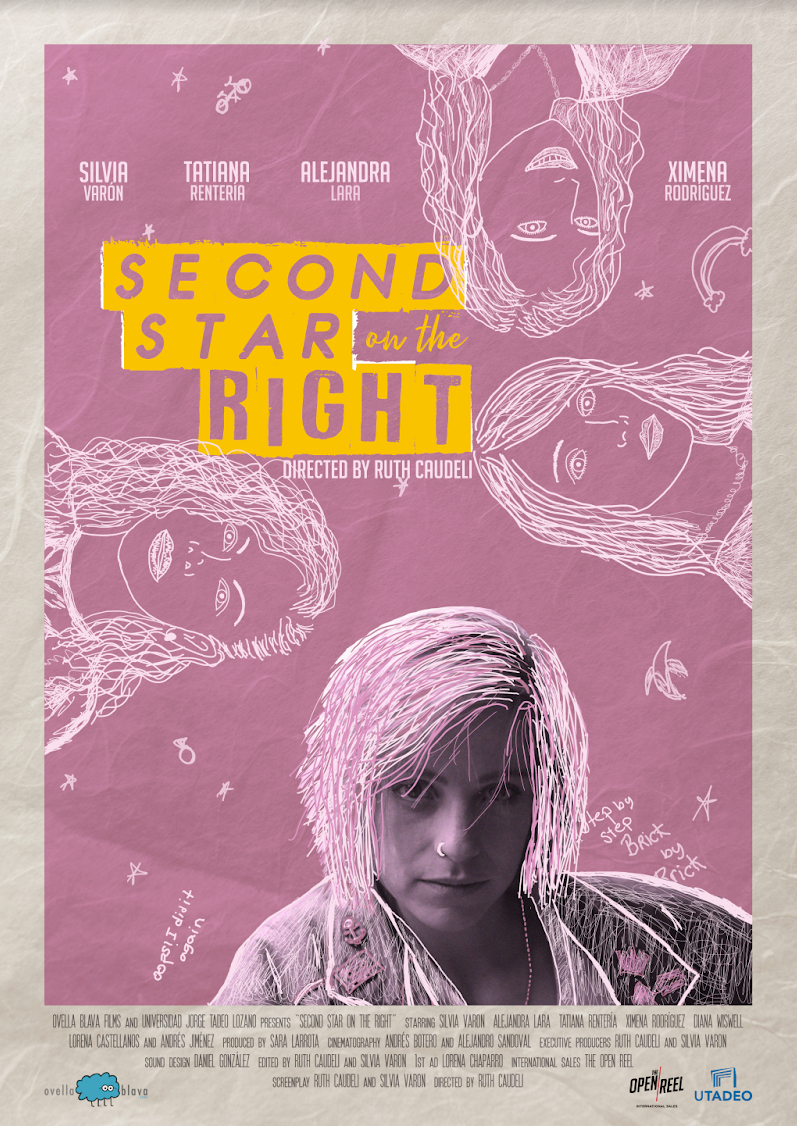 Second star on the right poster