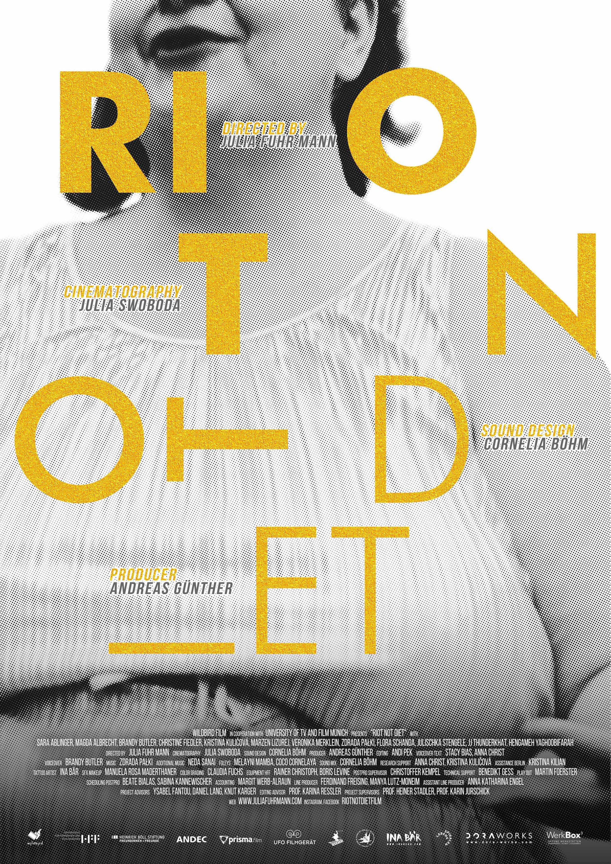 Riot Not Diet poster