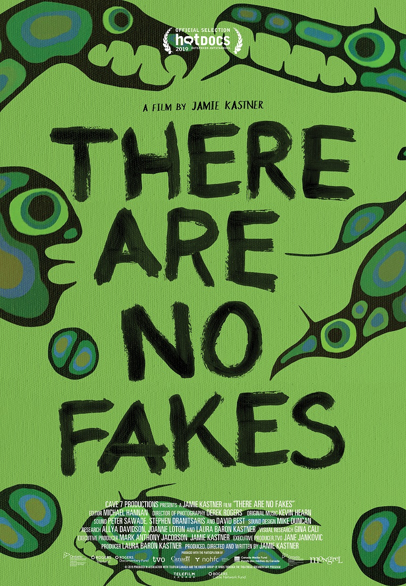 There Are No Fakes poster