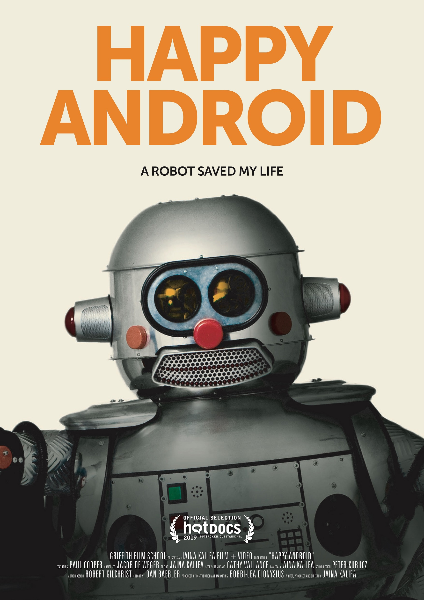 Happy Android poster
