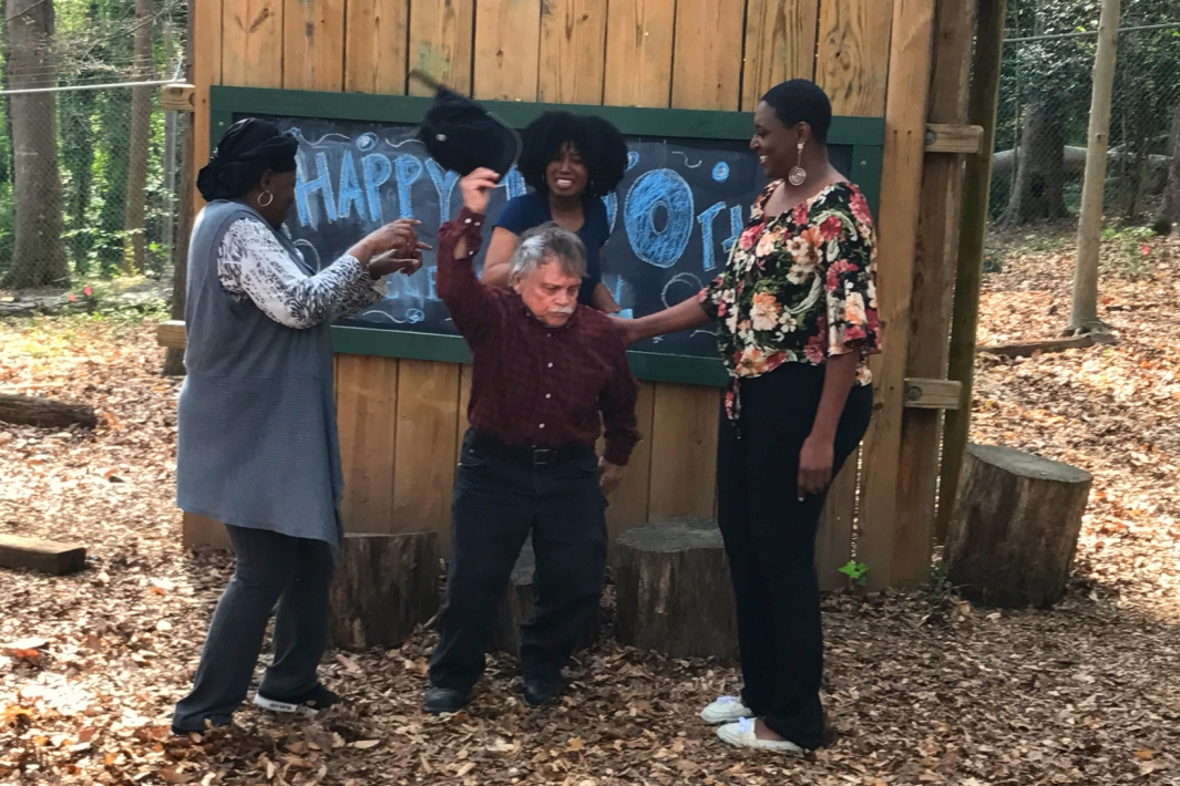 Roy Experiences Adam's Life (pictured: Troy Beecham, Angela Cook, Andria Chappell and Angeletha Majaa) - Picture by Sophia Johnson