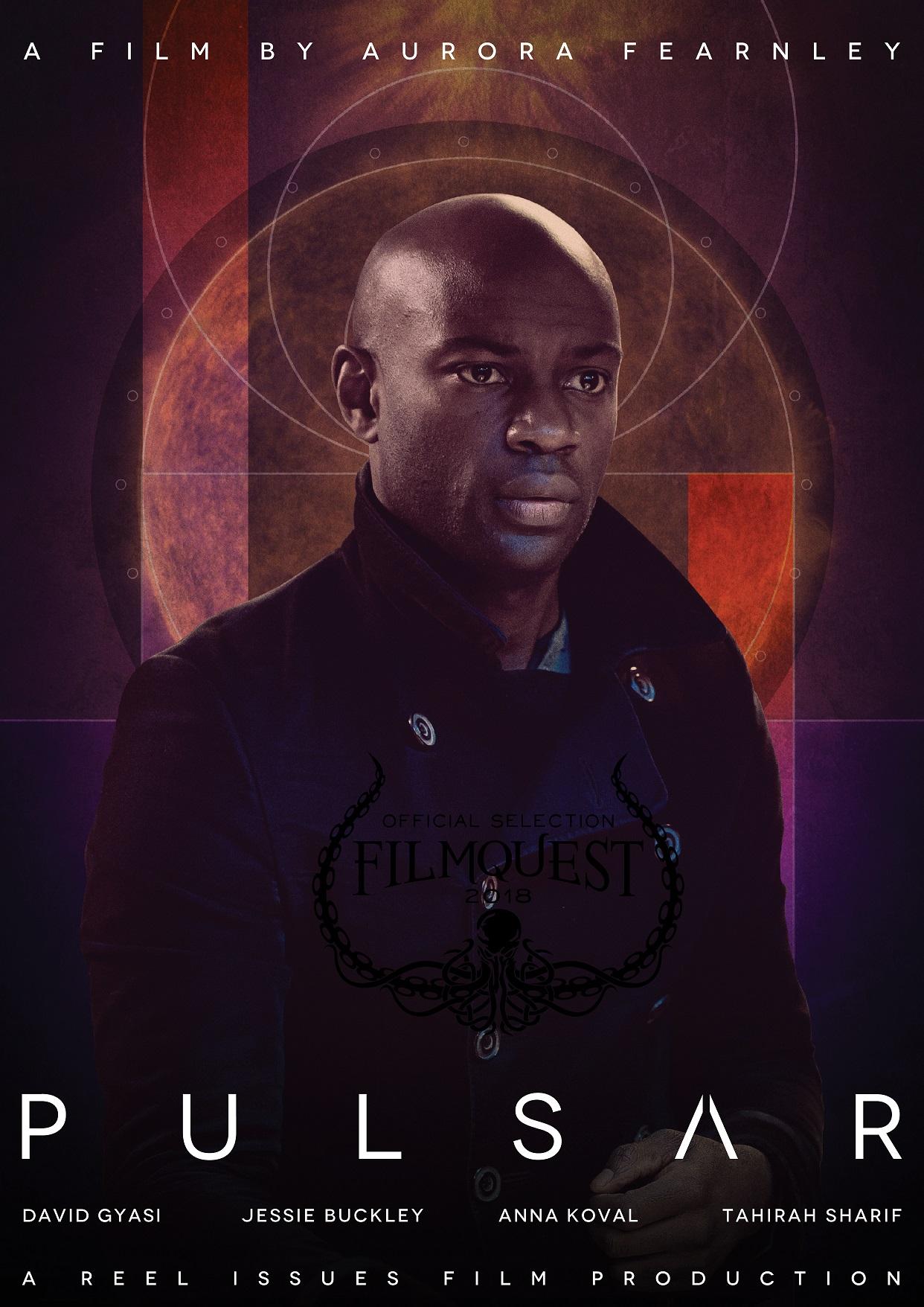 Pulsar poster (featuring David Gyasi)