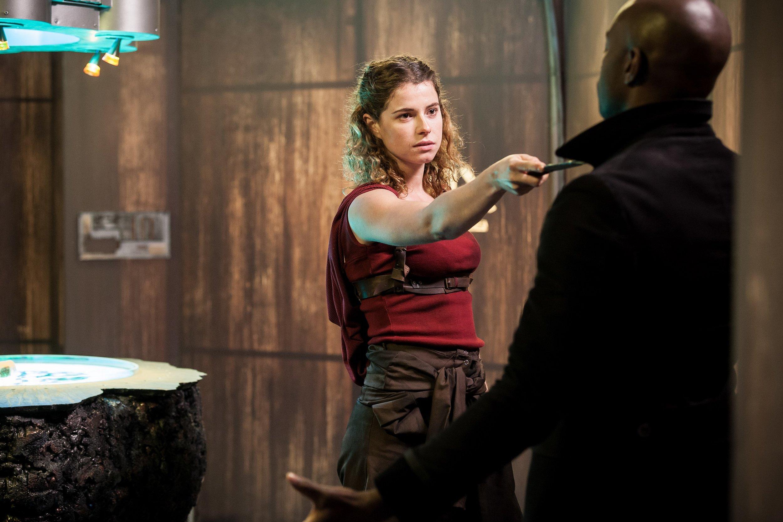 Pulsar - Actors Jessie Buckley & David Gyasi