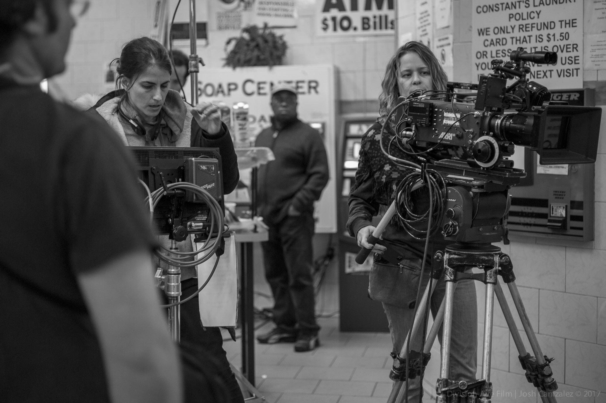 Director Tamar Glezerman and cinematographer Meg Kettell