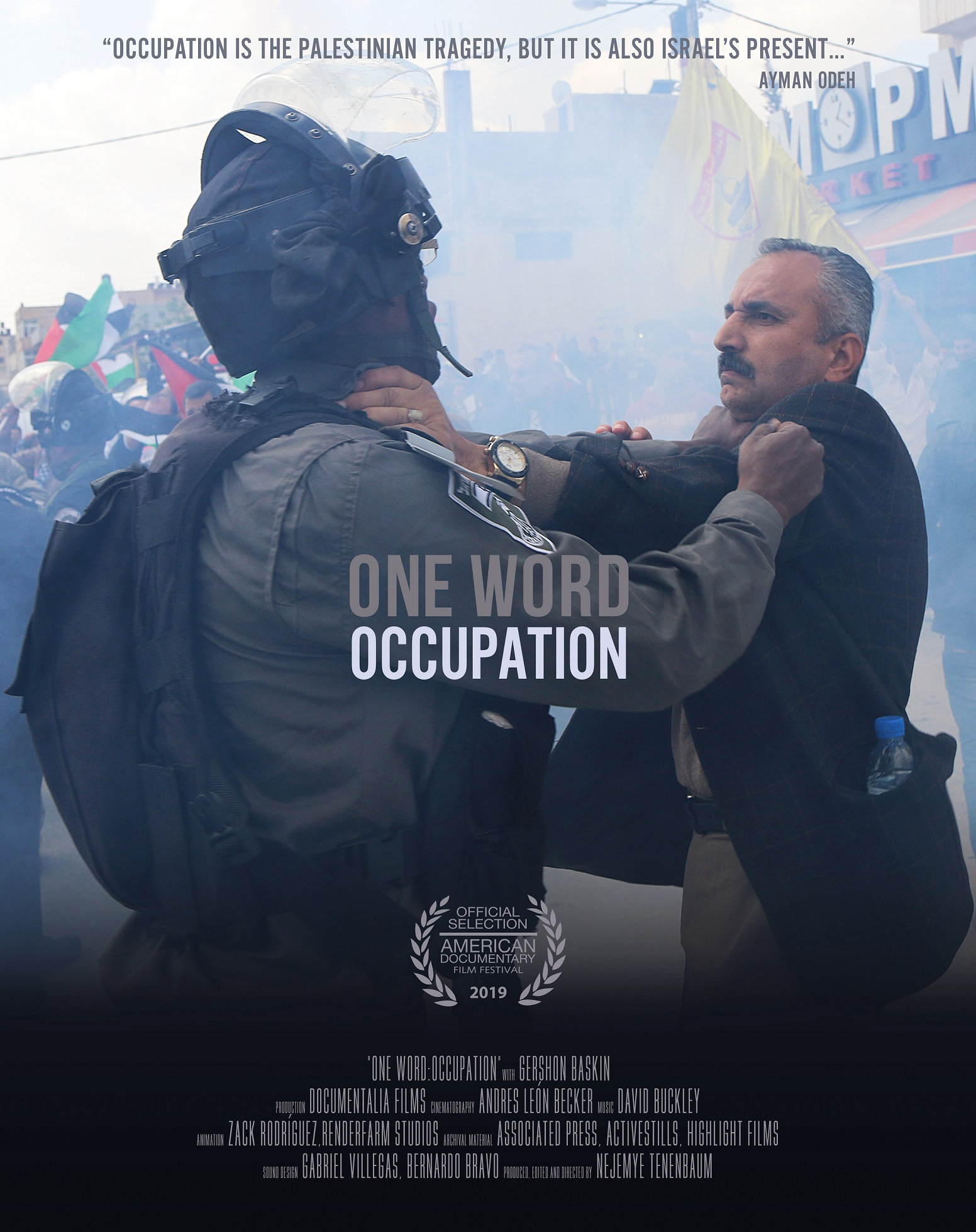 One Word: Occupation poster