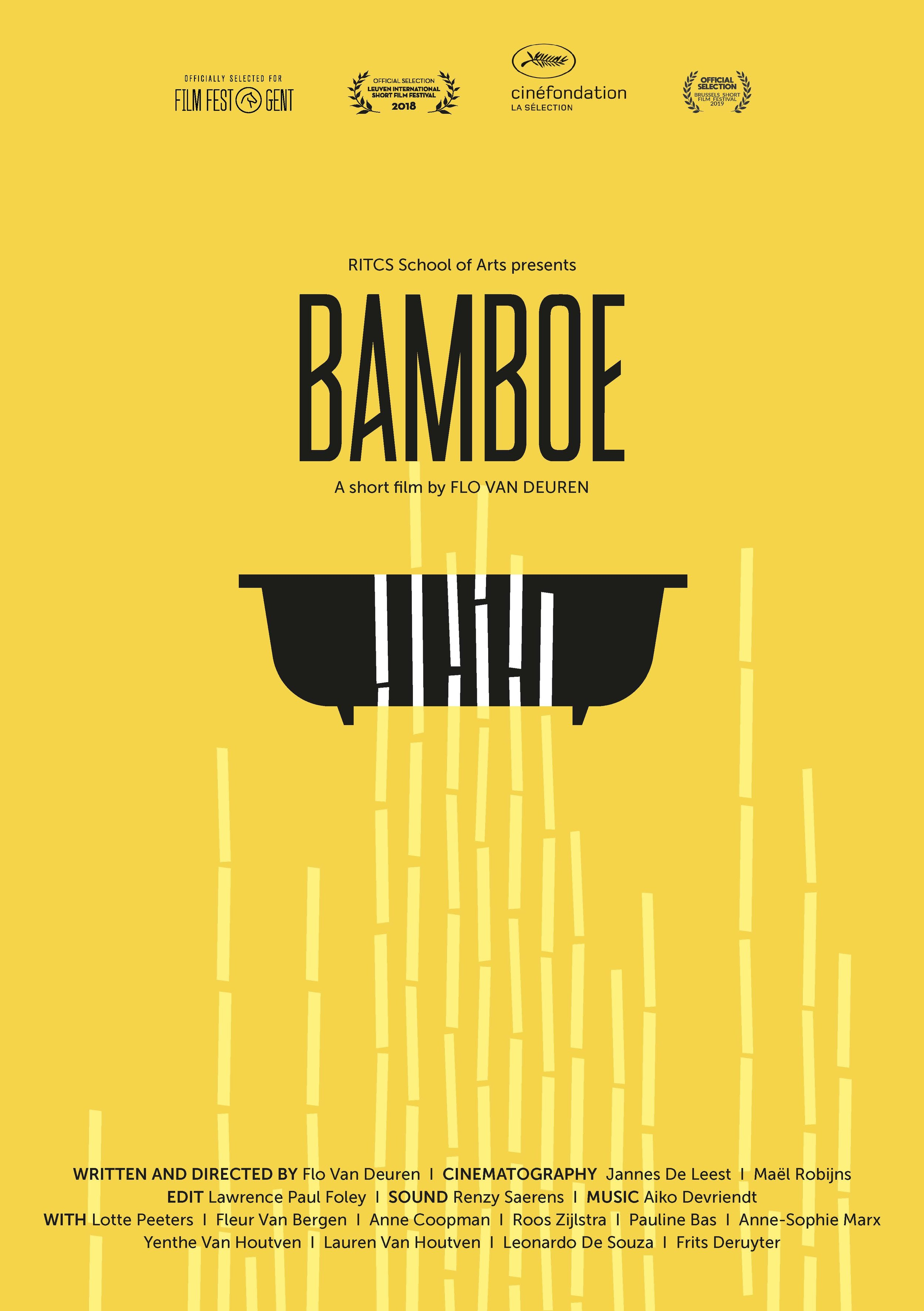 Bamboe poster - Artwork by Greet Lesage