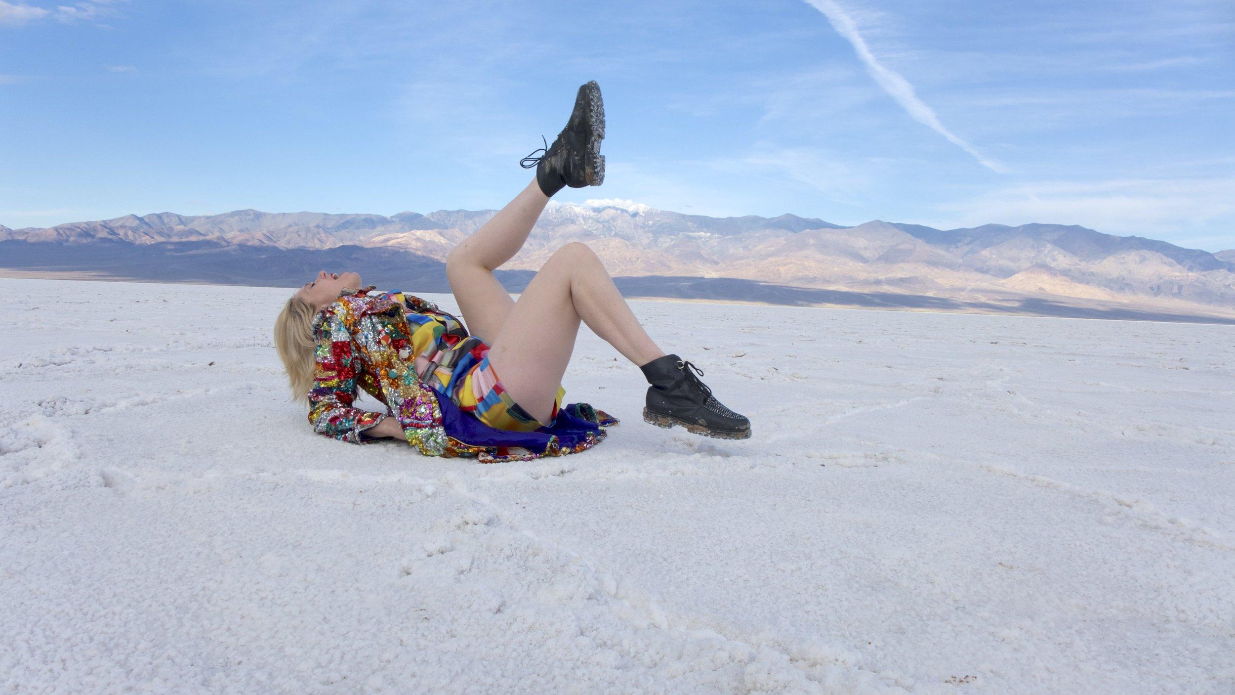 Kate Nash in Death Valley