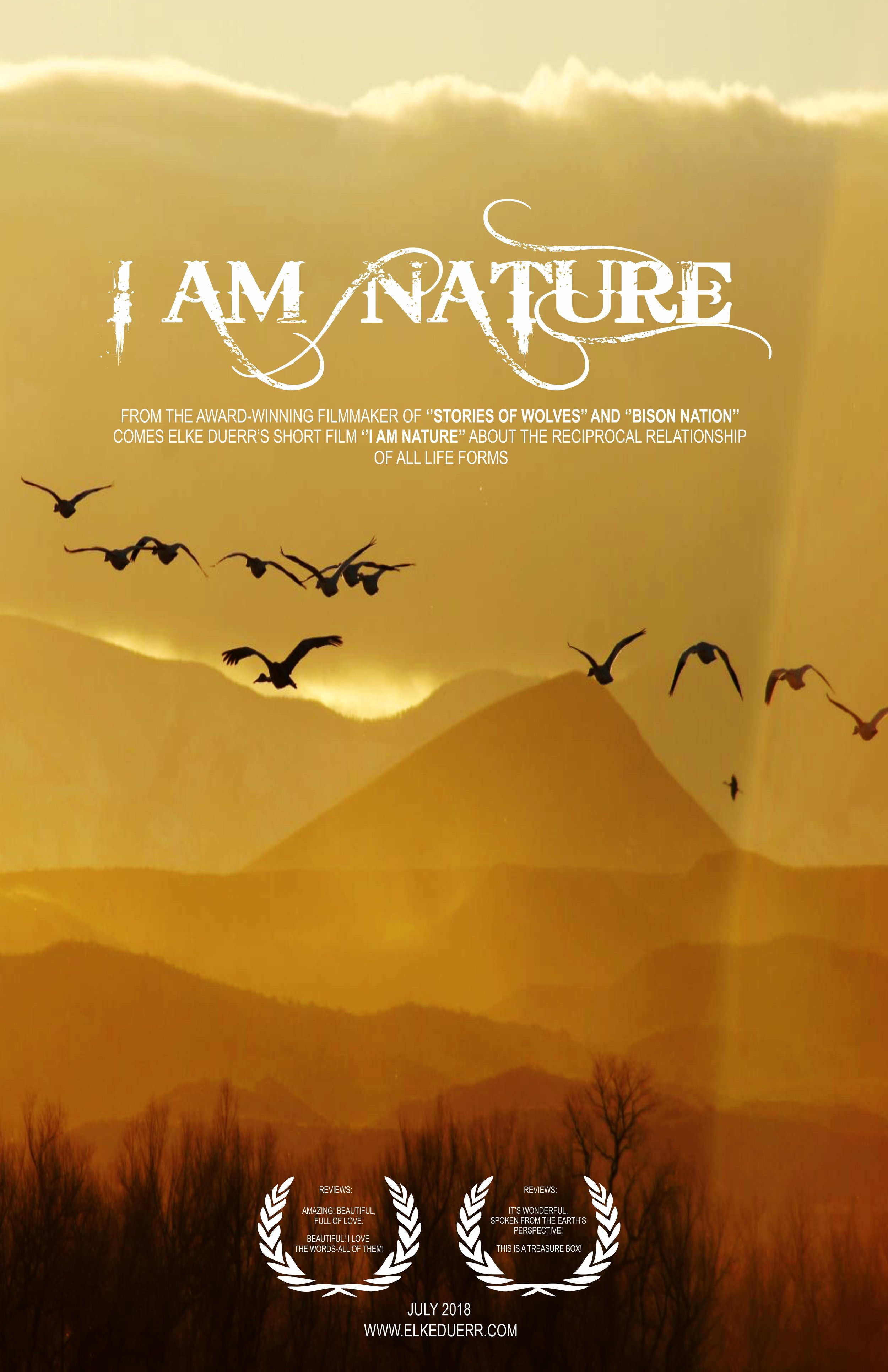 I am Nature poster