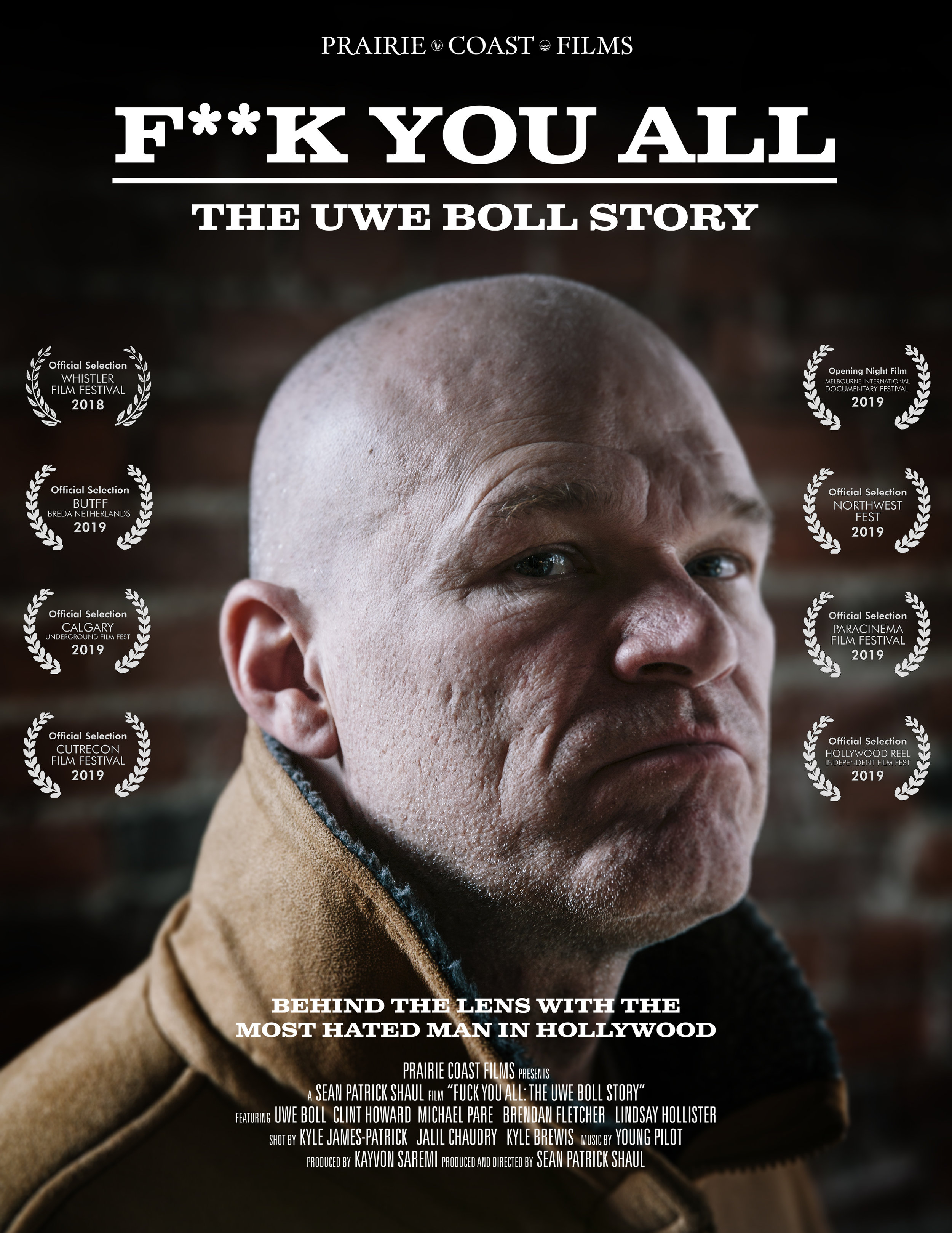 Fuck You All: The Uwe Boll Story poster
