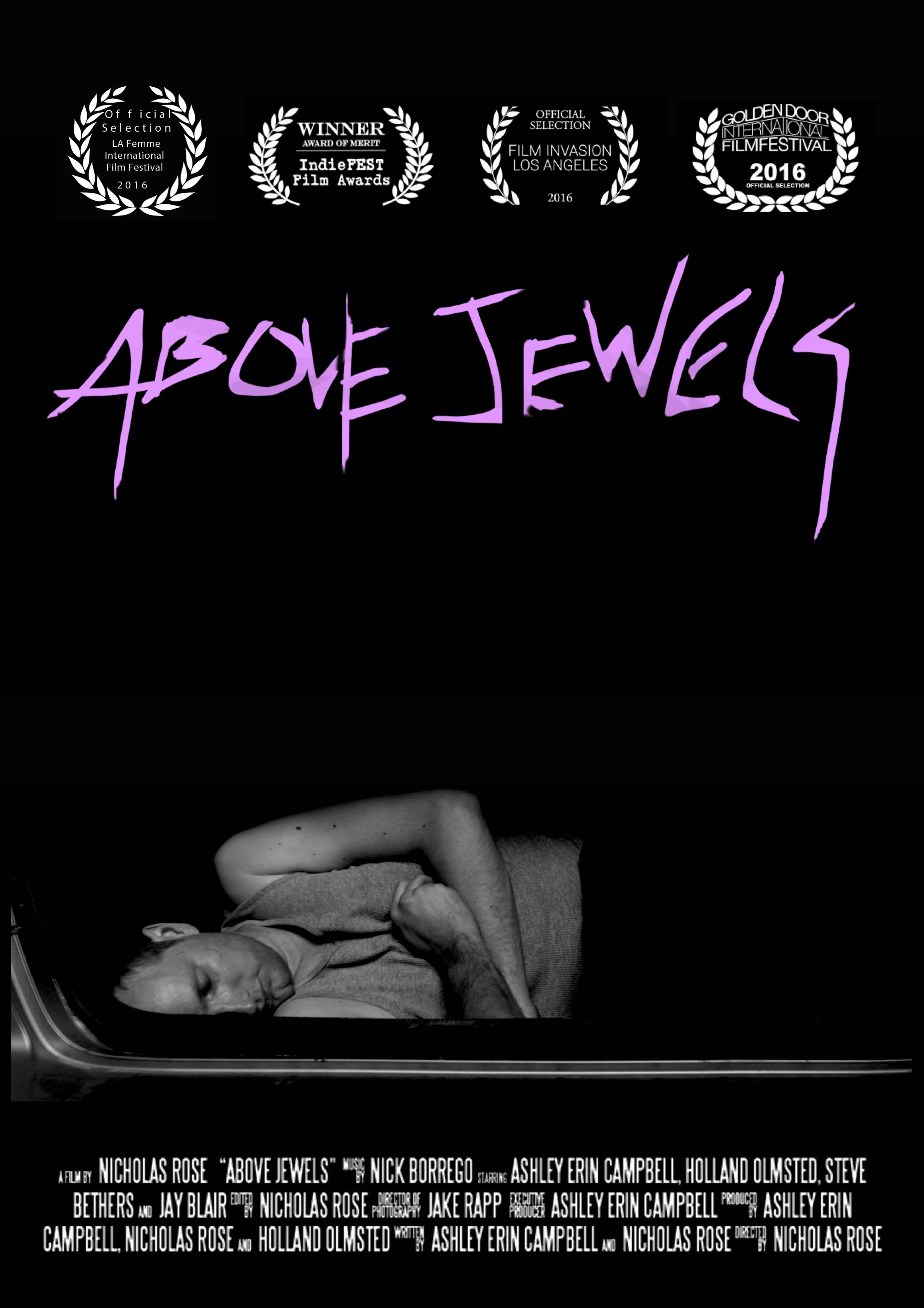 Above Jewels poster