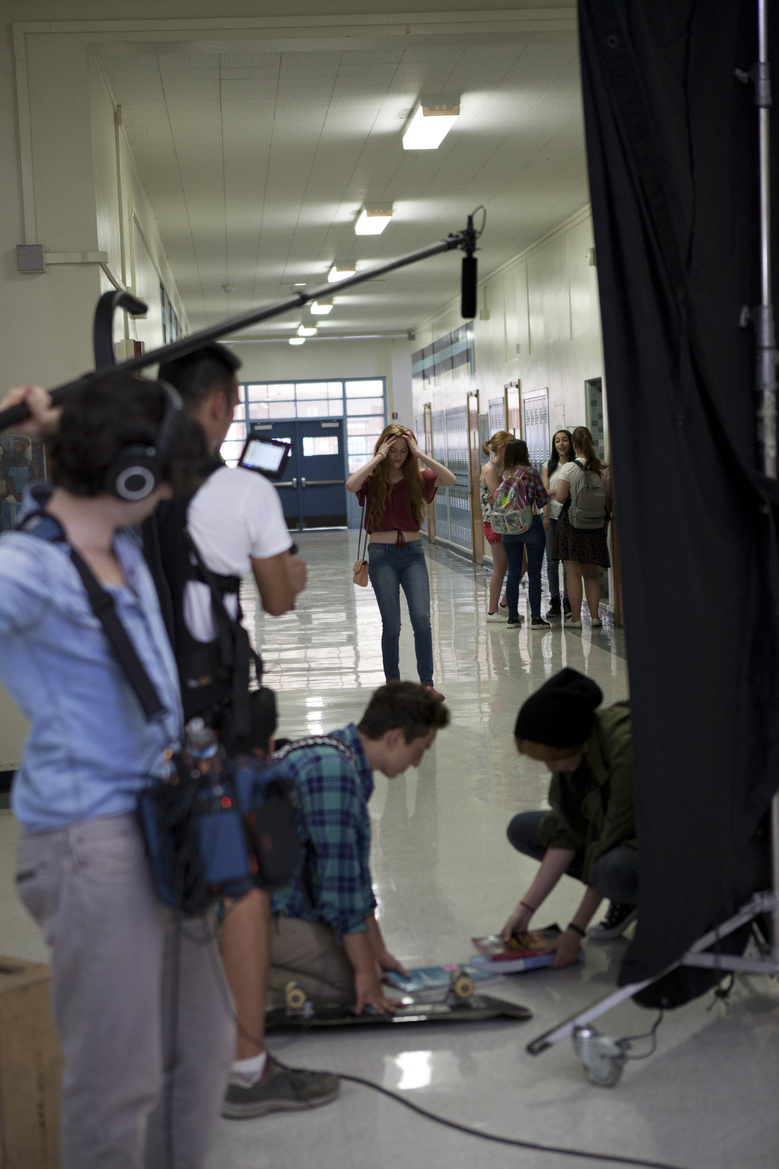 Behind the scenes of Becoming Lucy