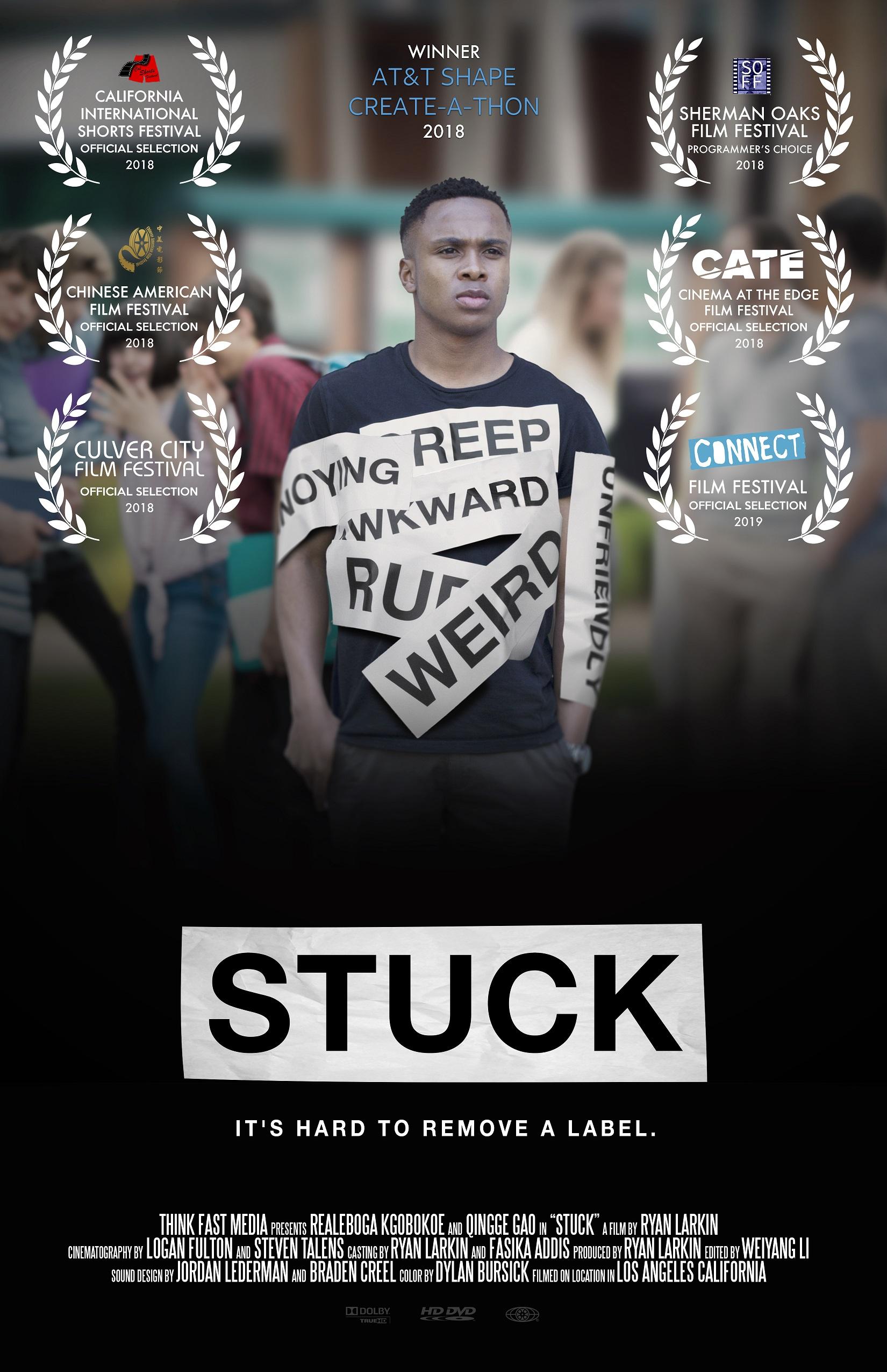 Stuck poster - Photo: Keith Battista
