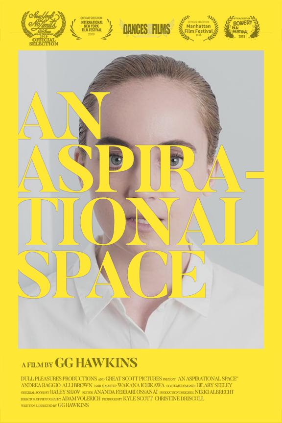 An Aspirational Space poster