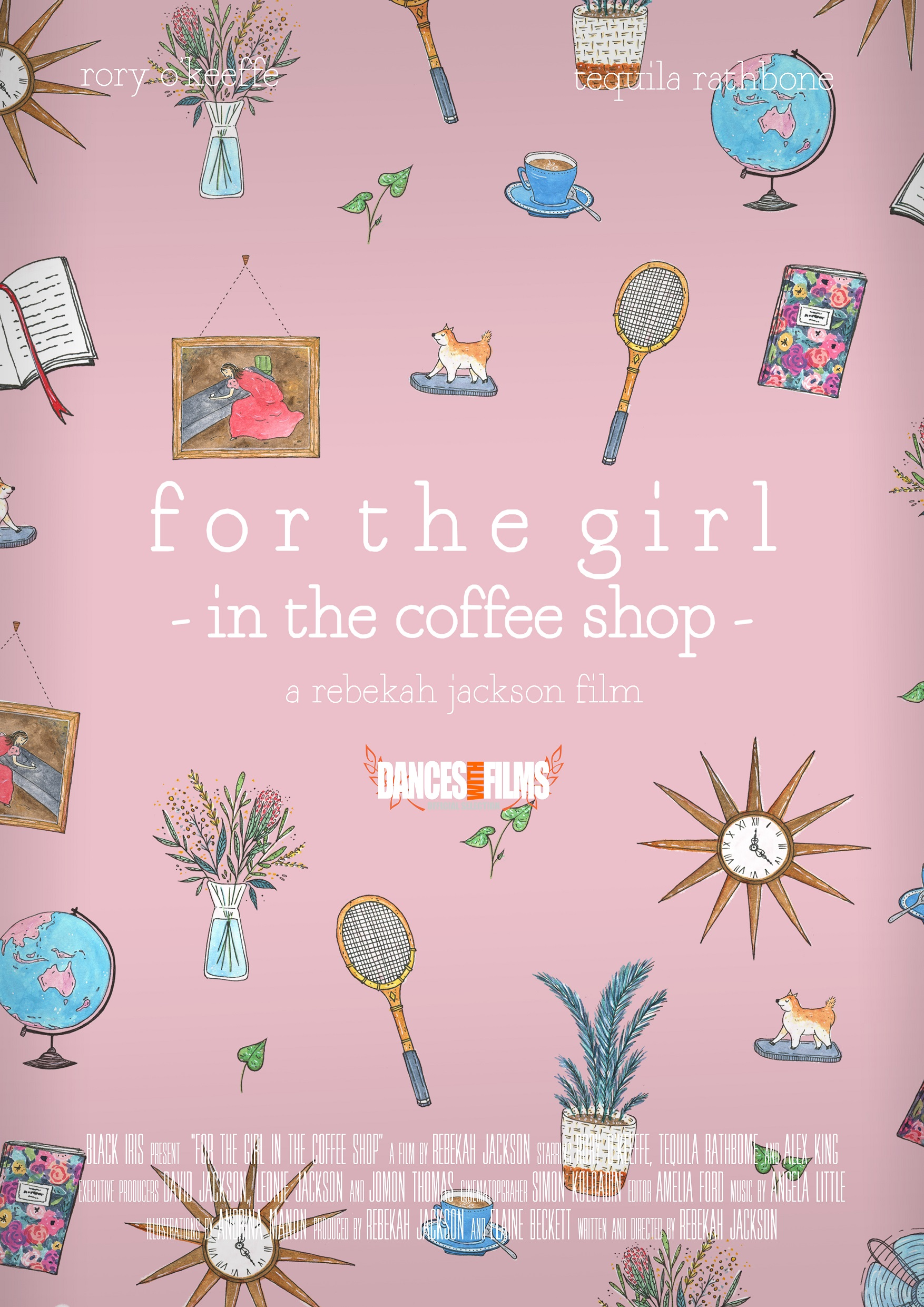 For the Girl in the Coffee Shop poster