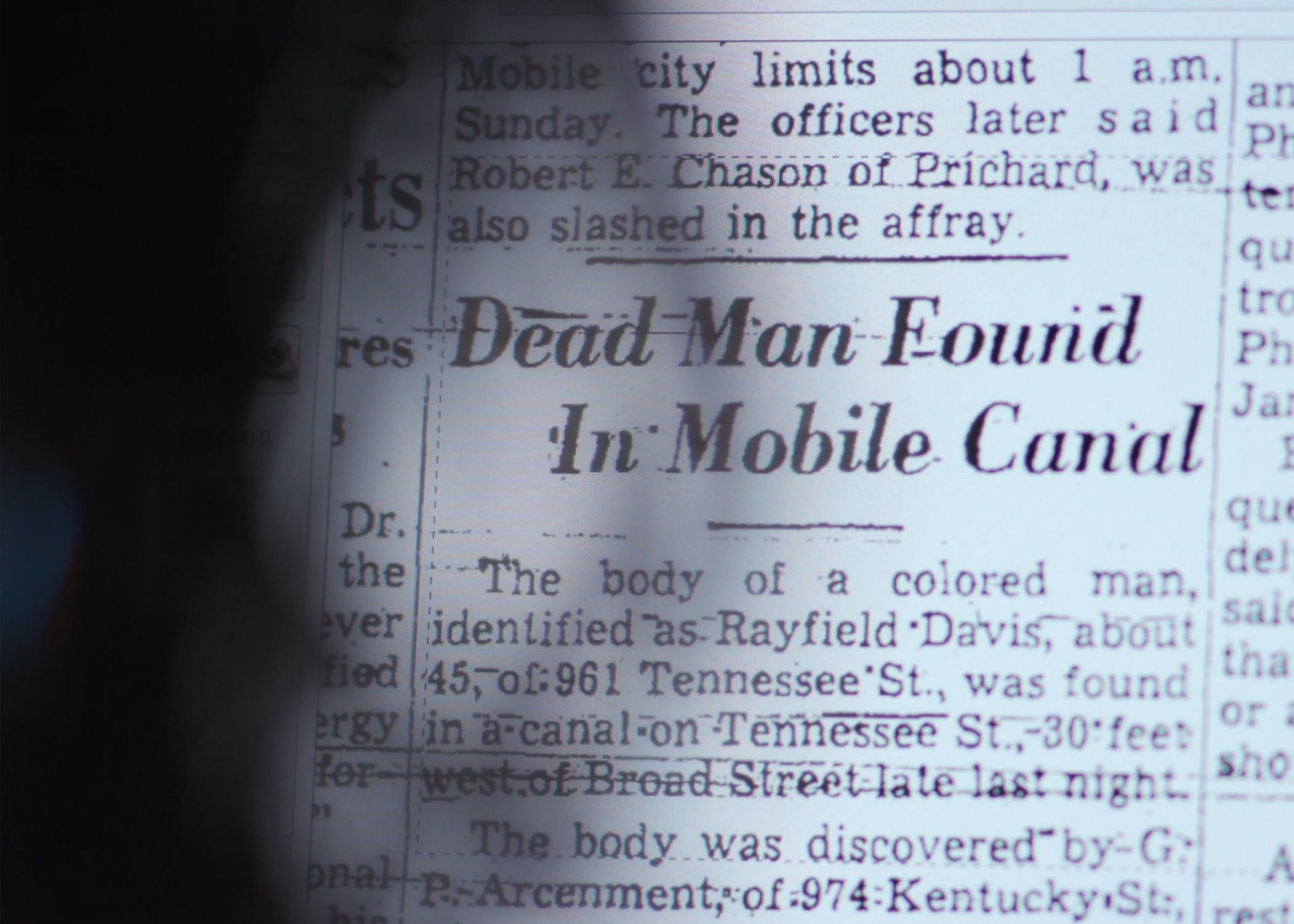 Murder in Mobile
