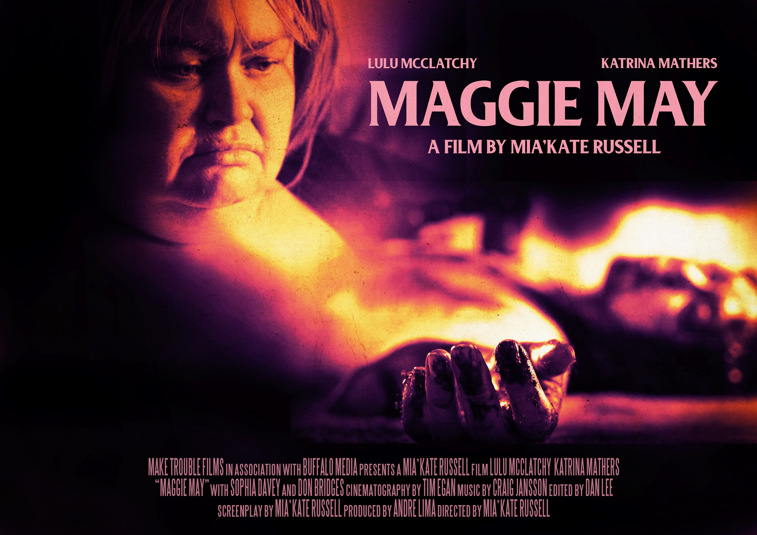 Maggie May poster