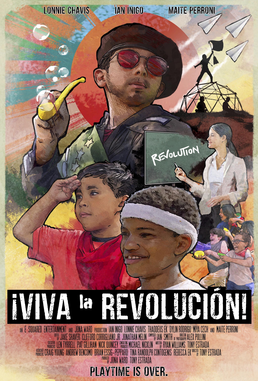 ¡Viva la Revolución! poster