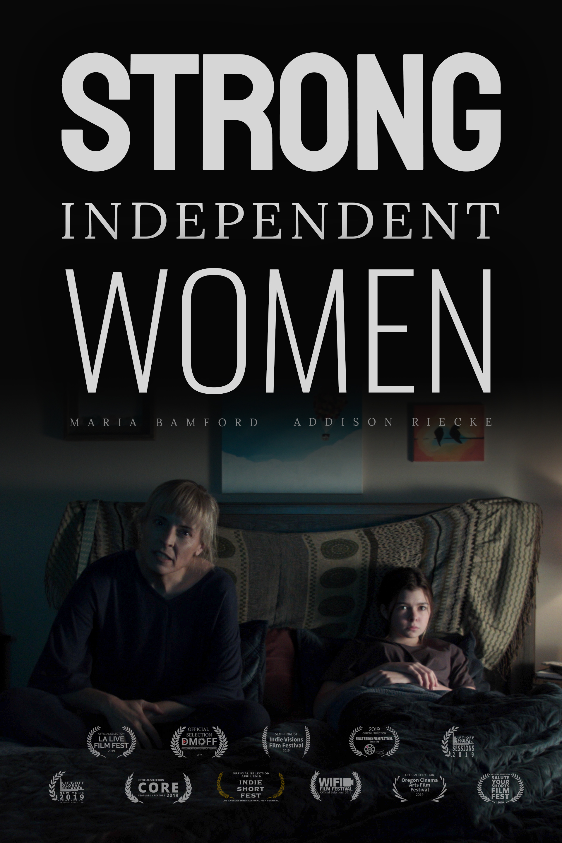 Strong Independent Women poster
