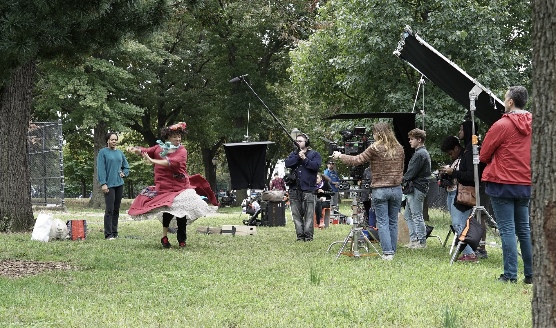 Behind the scenes of Saturday Grace