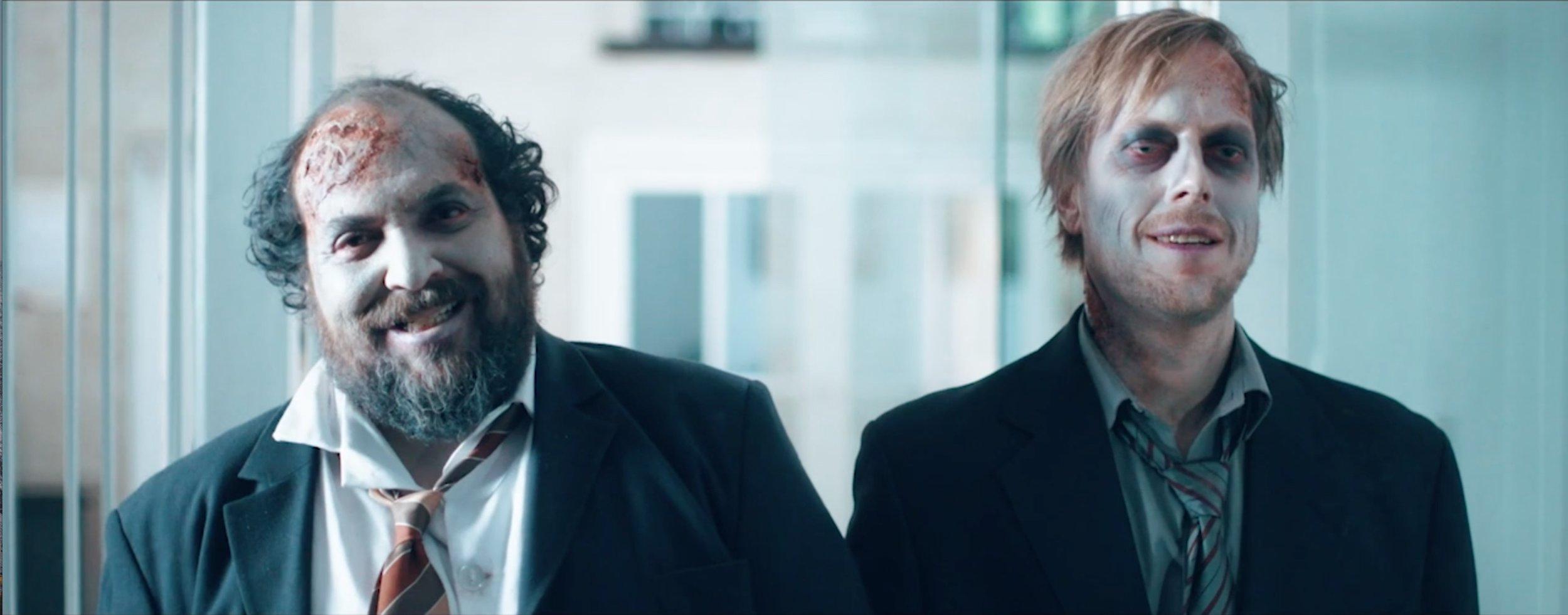 Phil (Joe Vaz) and Bob (Damon Berry), friends for eternity.