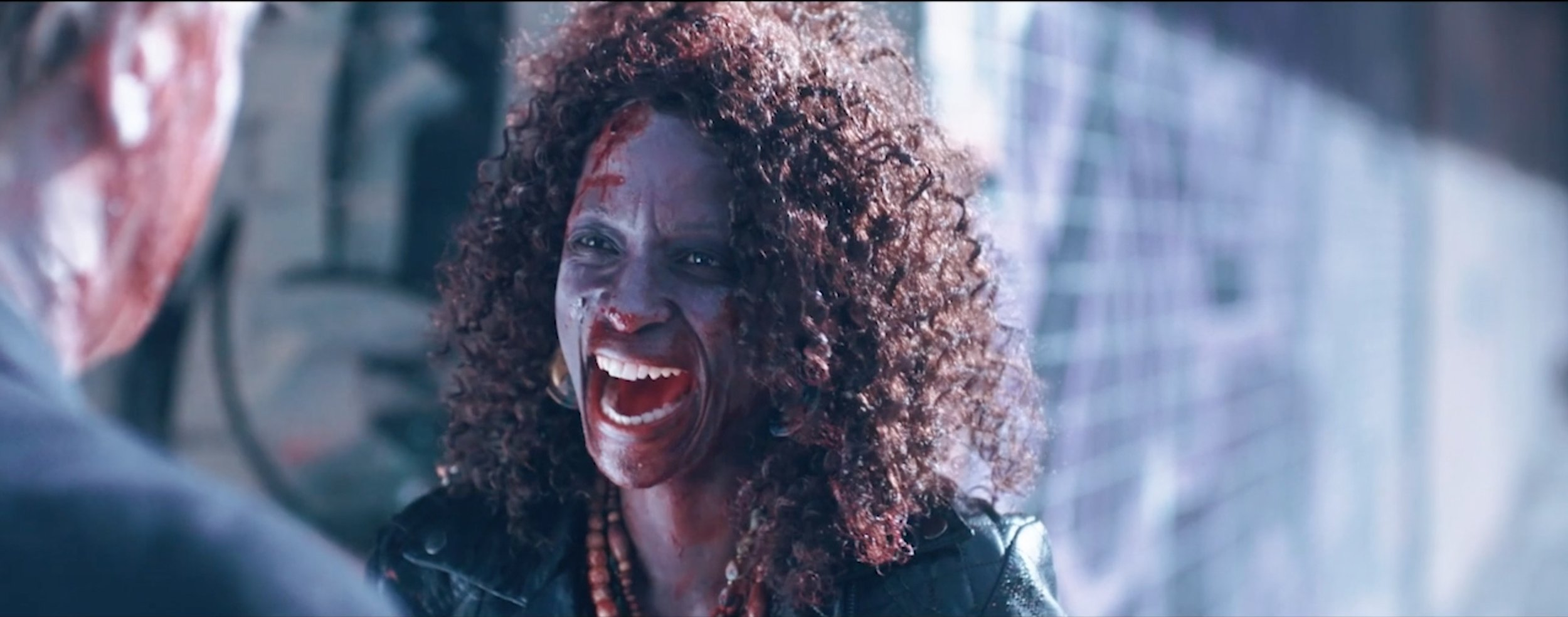 Angie (Hlubi Mboya) plays the renegade love interest