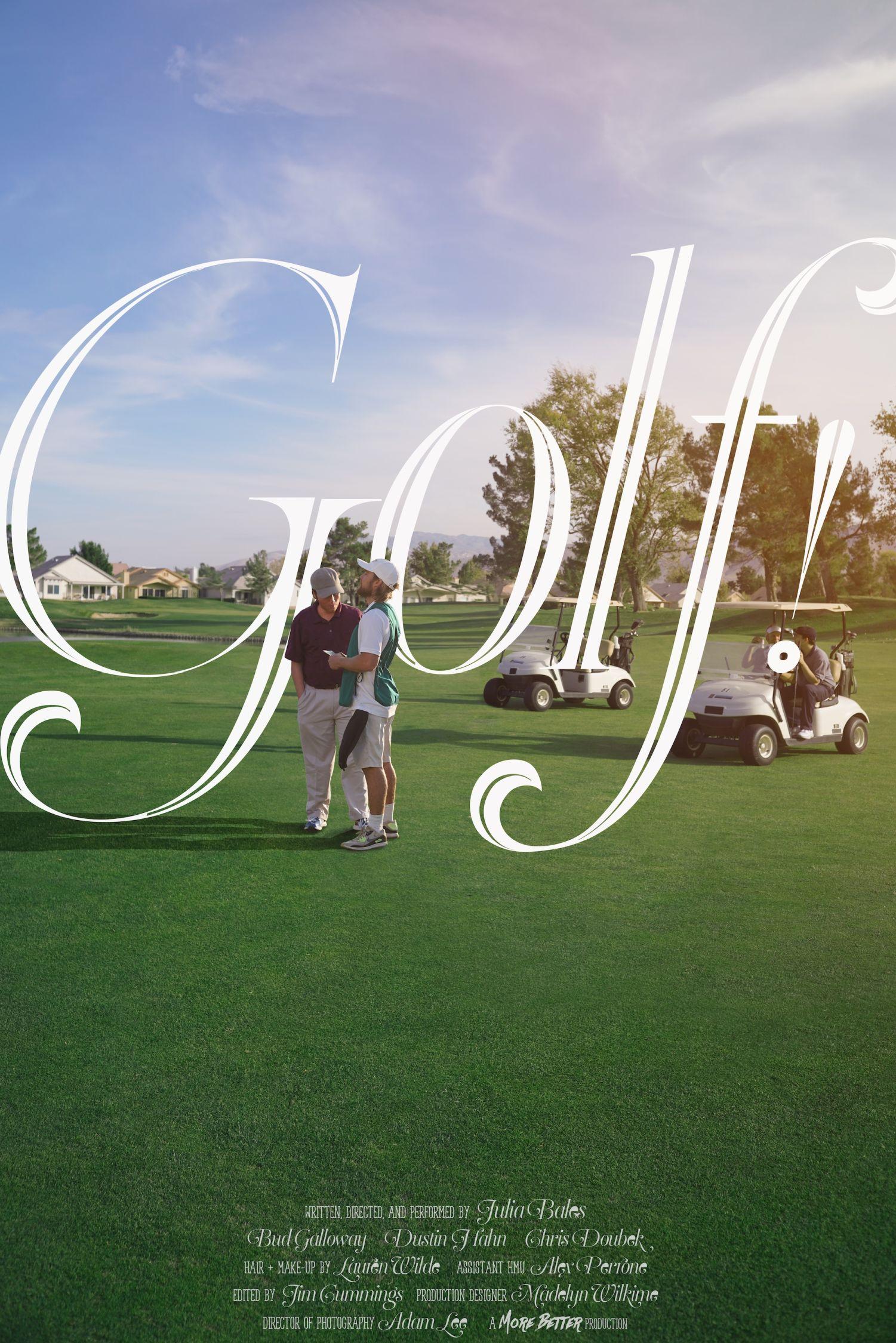 Golf! poster