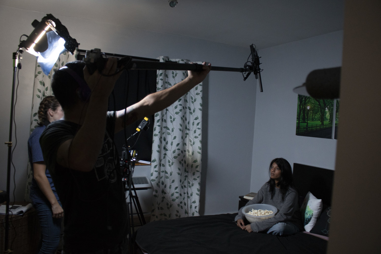 Behind the scenes of The Gaze