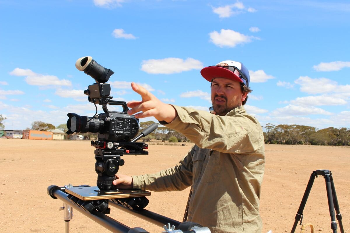 Behind the scenes of Future Harvest - DOP Maxx Corkindale