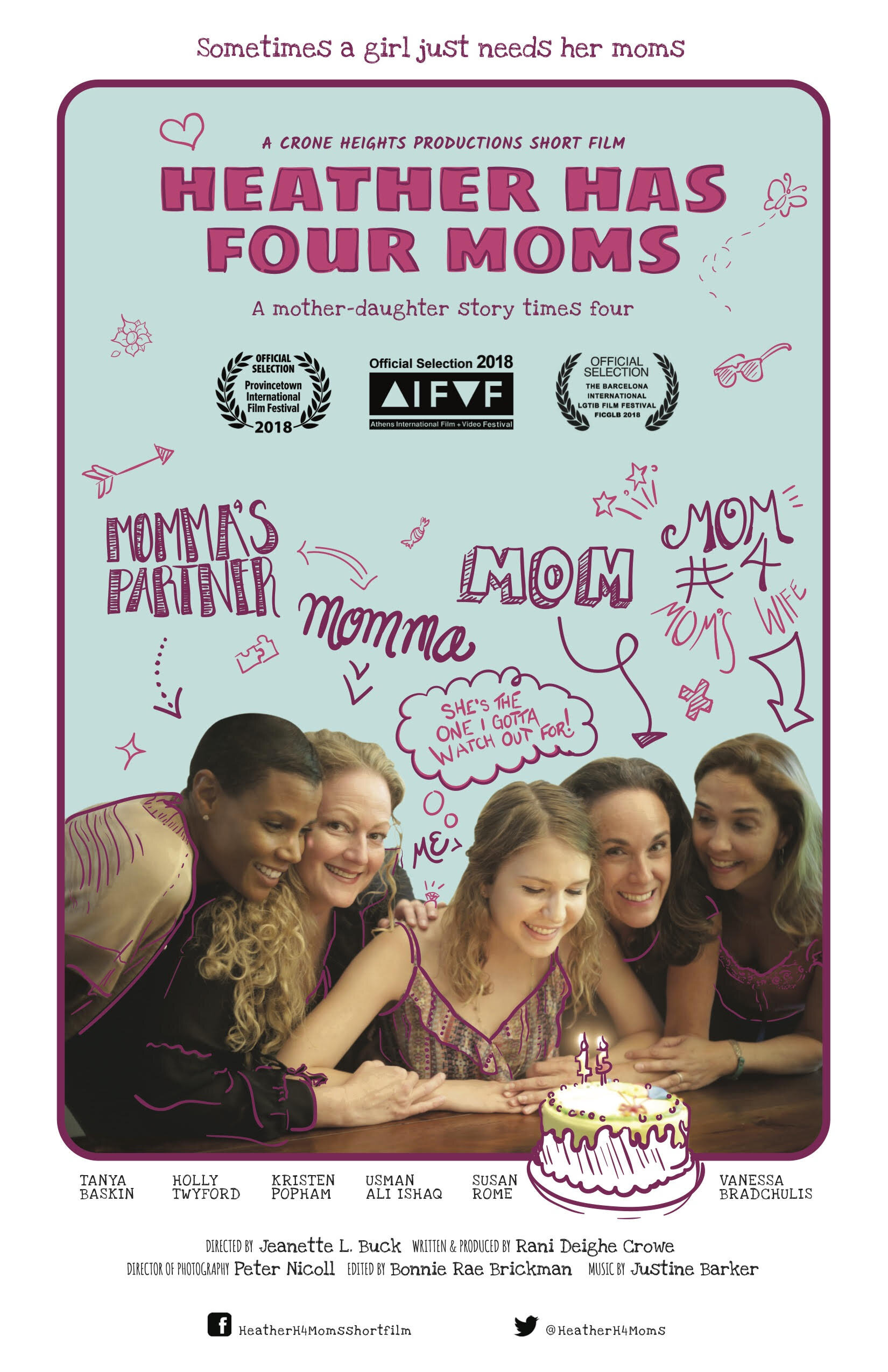 Heather Has Four Moms poster