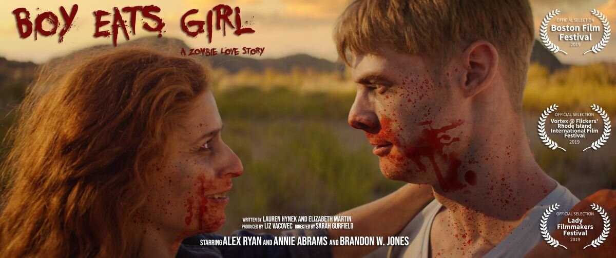 Boy Eats Girl: A Zombie Love Story poster