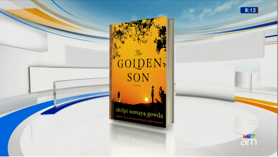 Shilpi discusses The Golden Son on Canada AM.