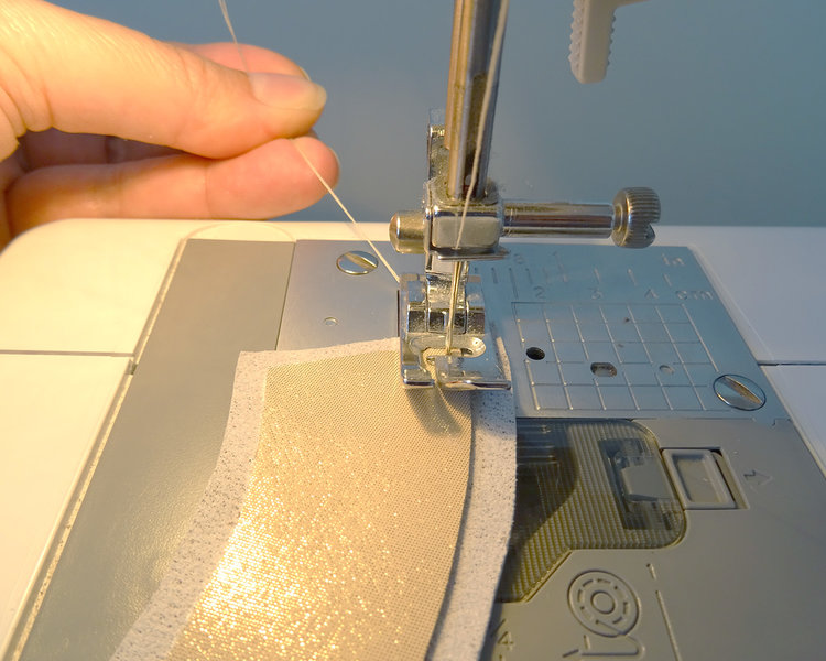 How to sew leather on your regular home sewing machine