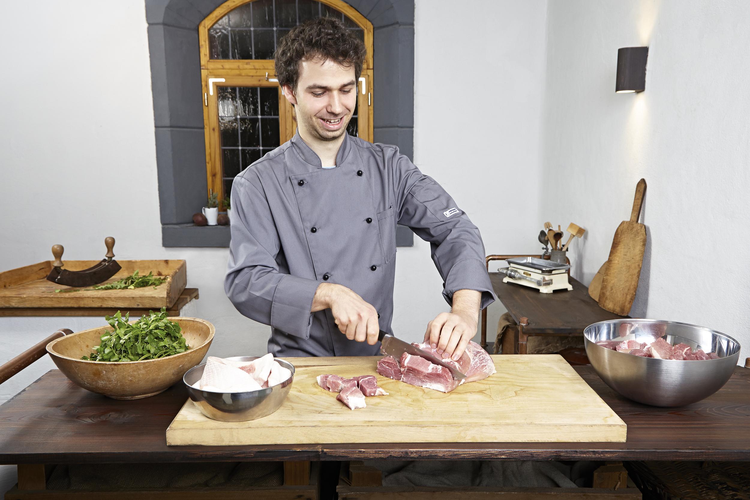 2 - Fleisch schneiden