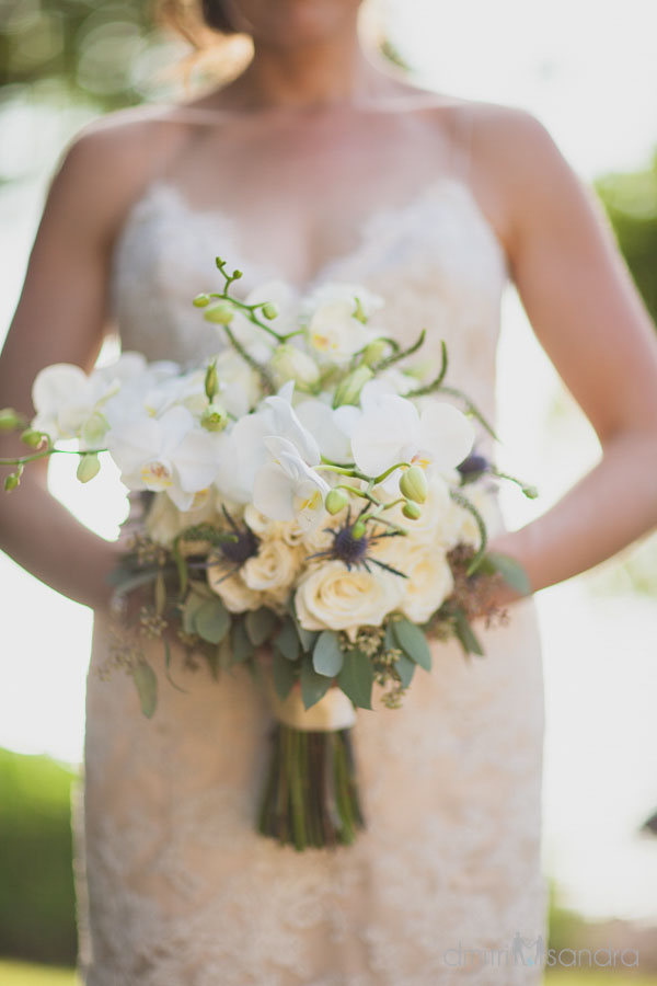 soft white bridal bouquet by Bliss Wedding Design - photo by Dmitri and Sandra Photography