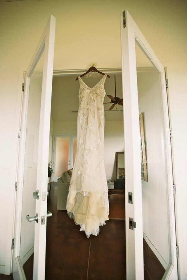 hawaii wedding dress
