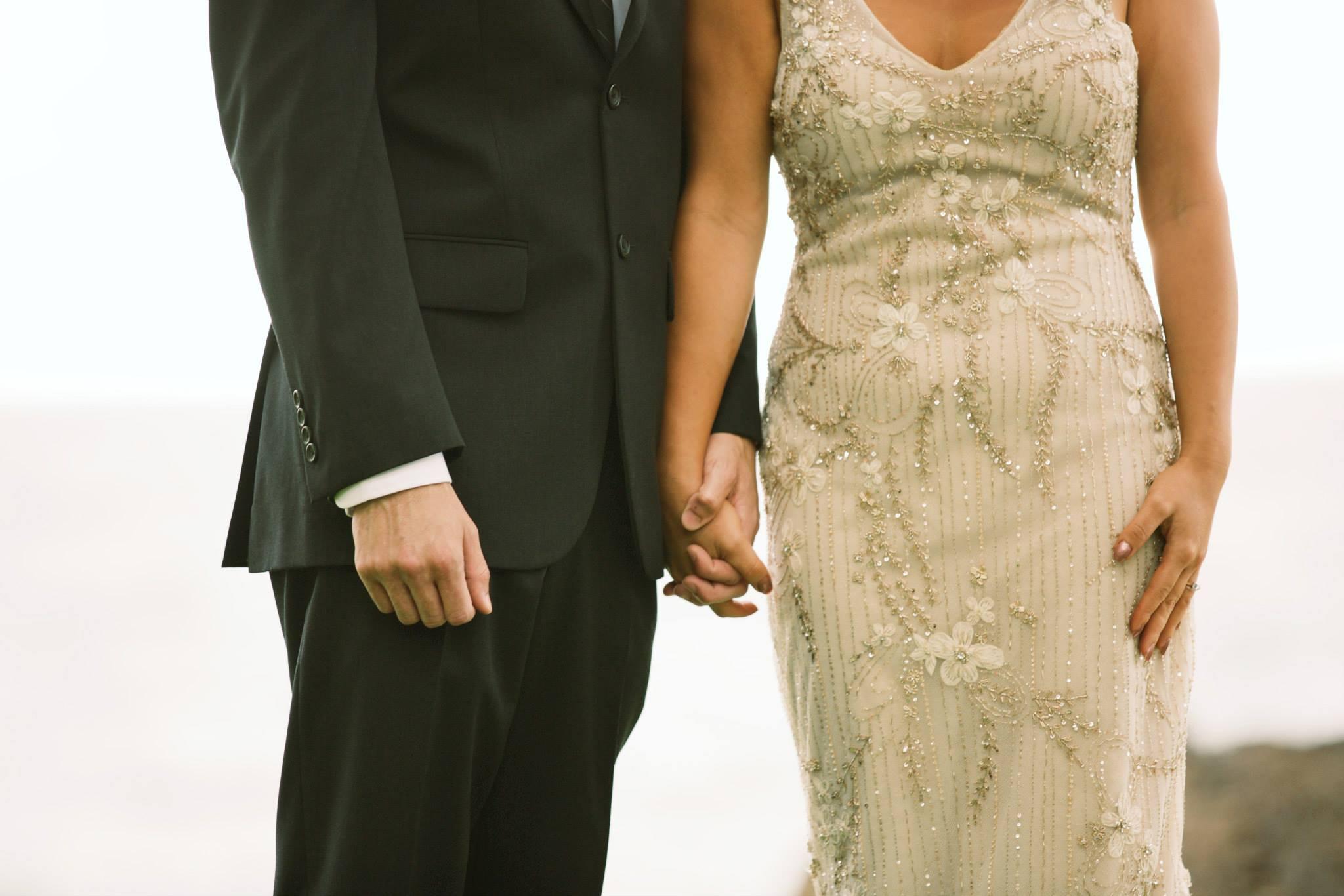 elegant hawaii wedding ceremony