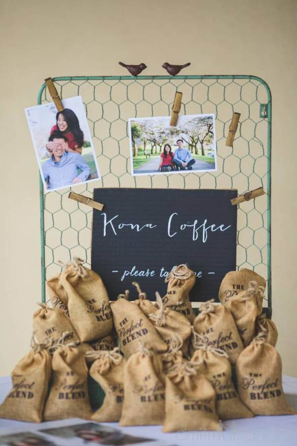 wedding gift kona coffee