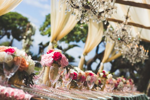 luxury wedding table design