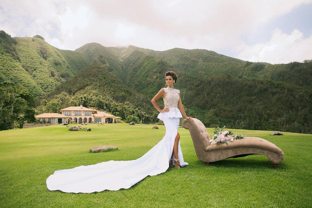 Regal Island Bride