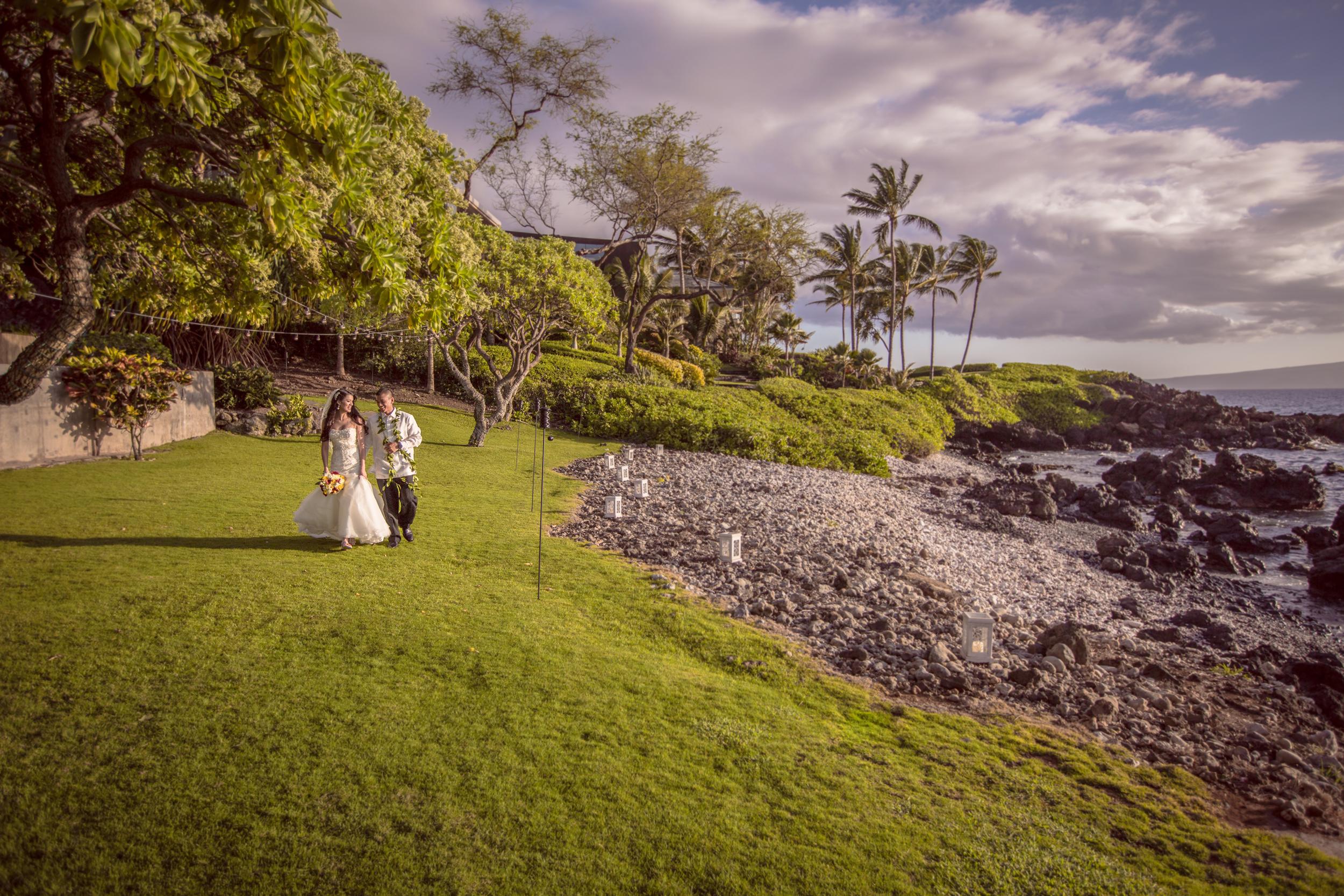 Kukahiko Estate - oceanfront wedding venue, Maui, Hawaii